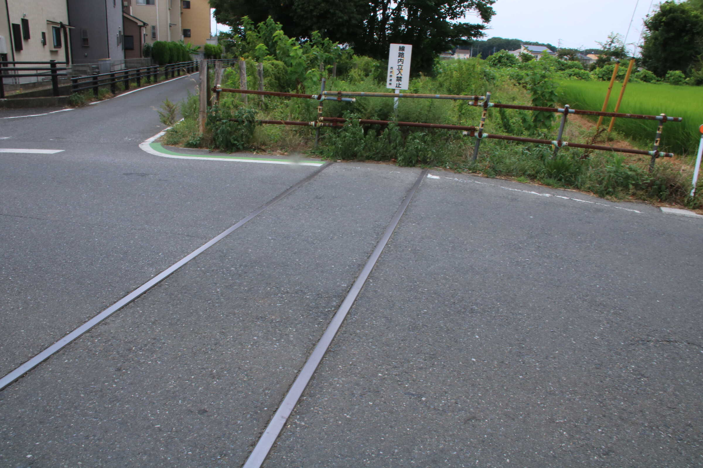 安比奈線 線路跡