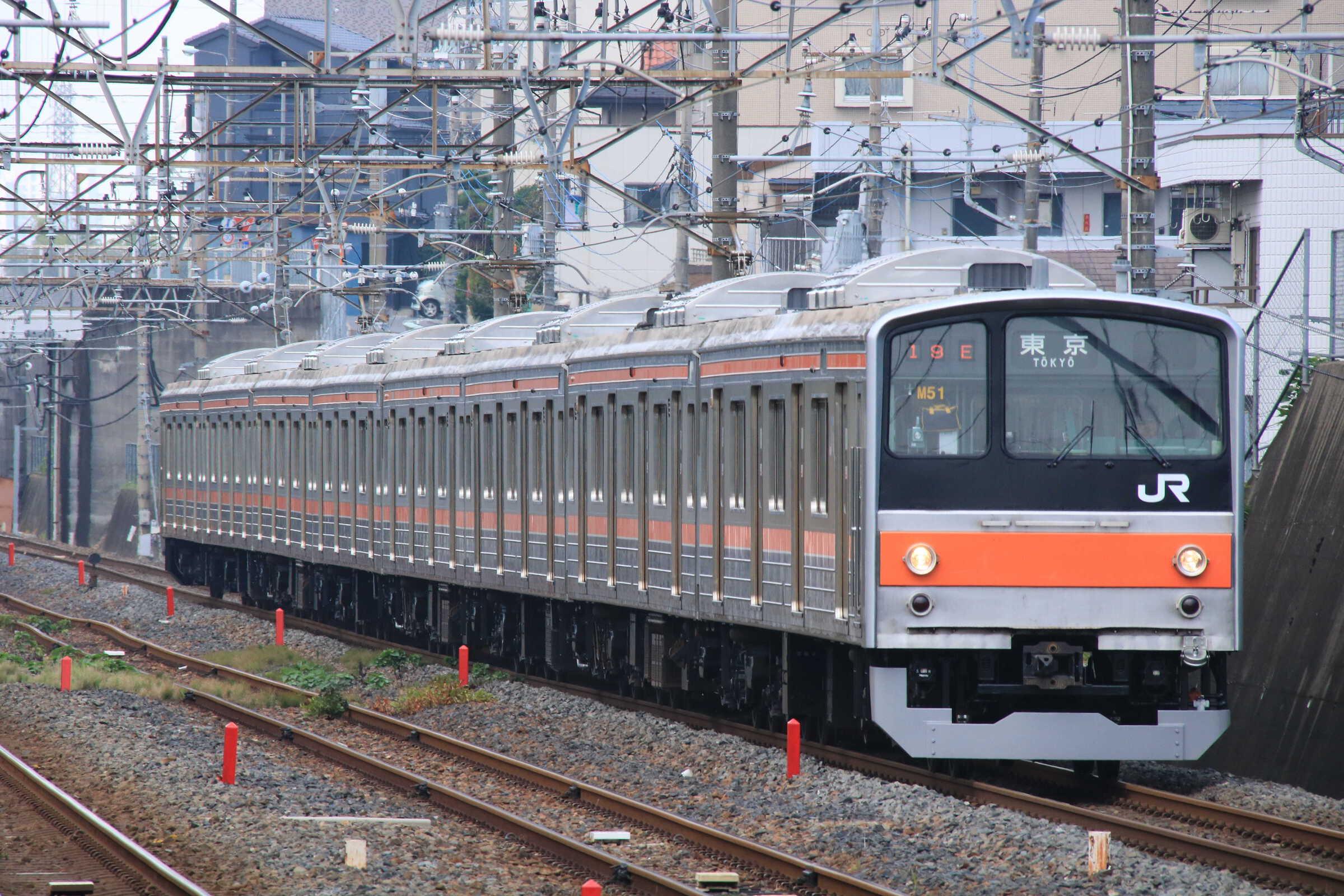 919E 205系 千ケヨM51編成