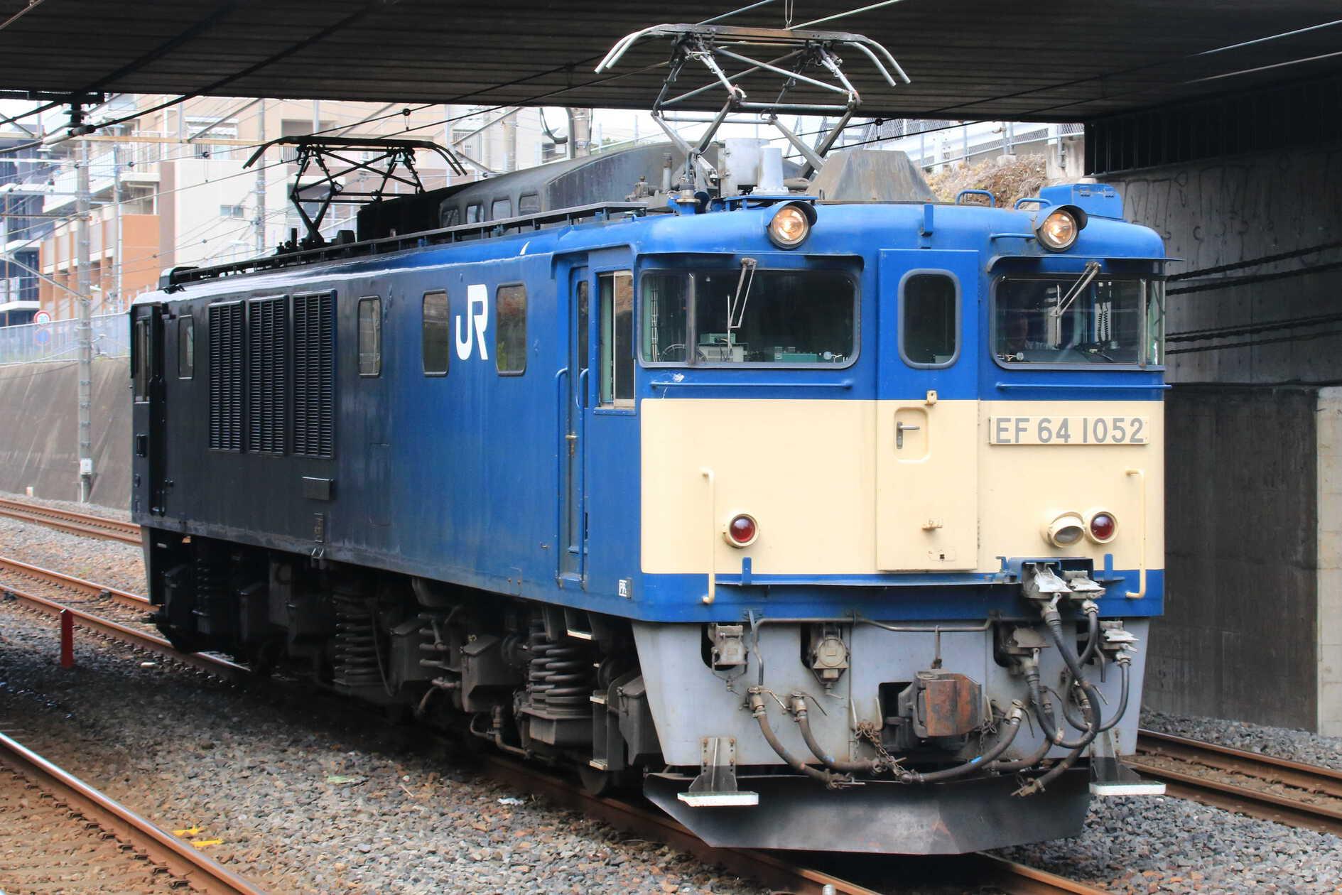 単9880列車 EF64-1052②[高]