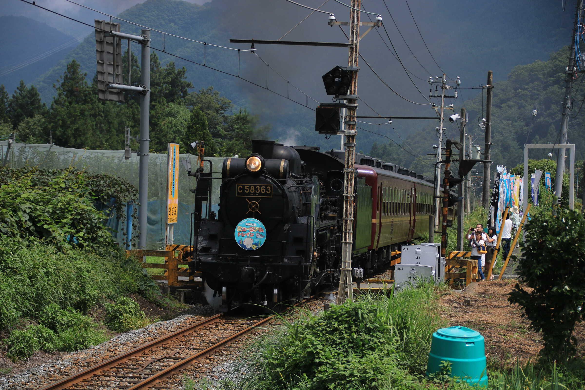 5001列車 C58363+12系客車4B