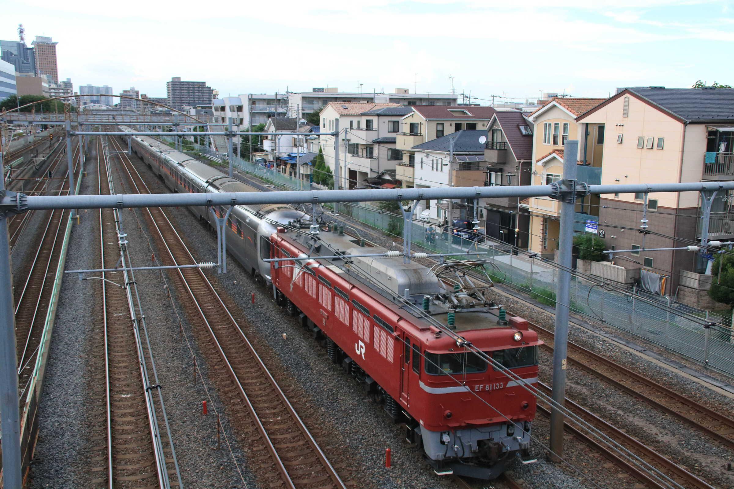 回9010列車 カシオペア紀行返却回送 EF81-133②[田]+E26系 東オク車12両