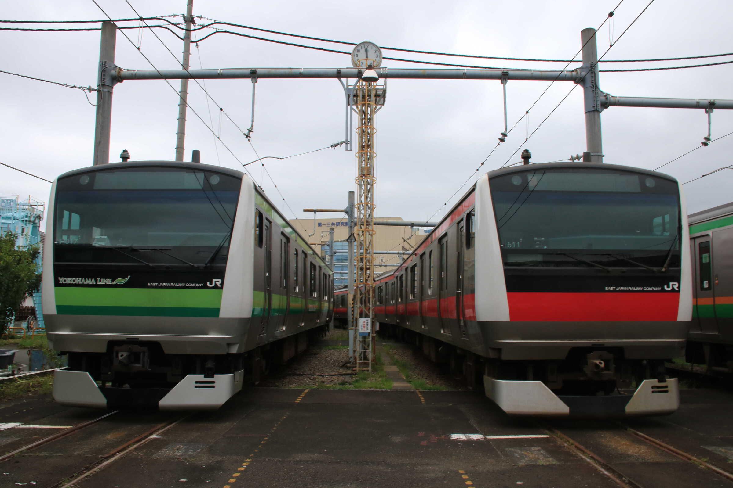 E233系 横クラH017、千ケヨ511