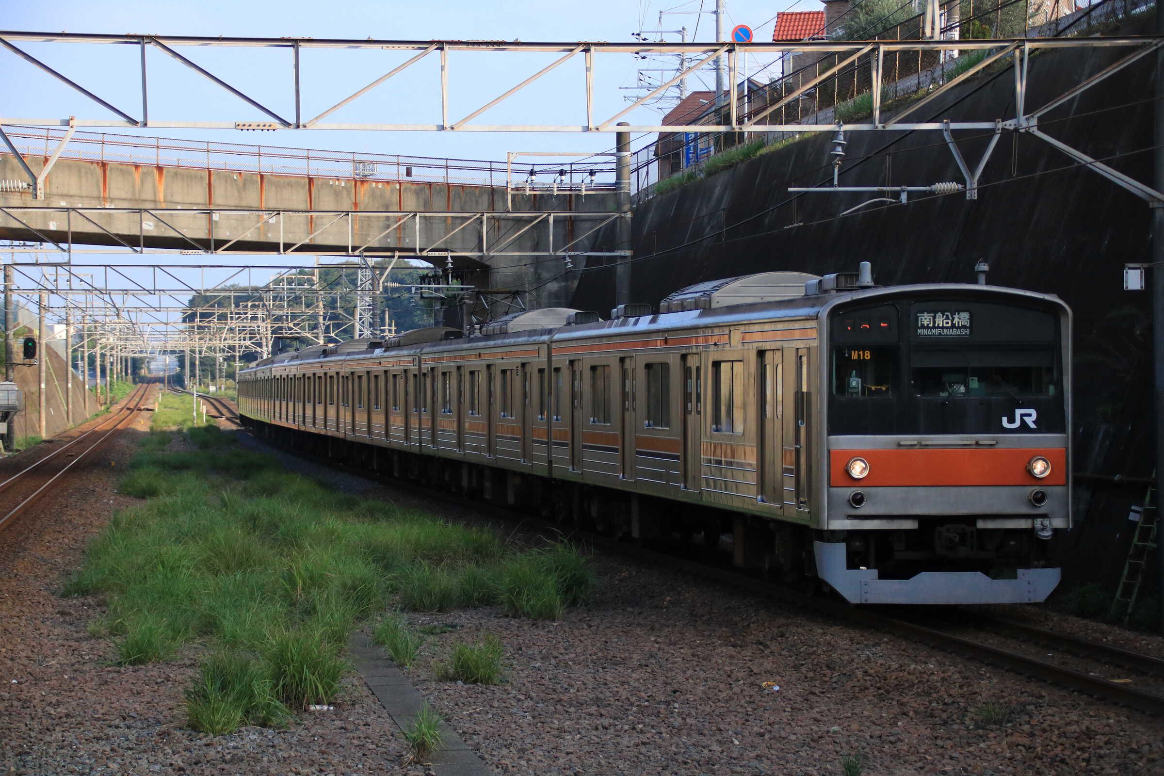 573E 205系 千ケヨM18編成
