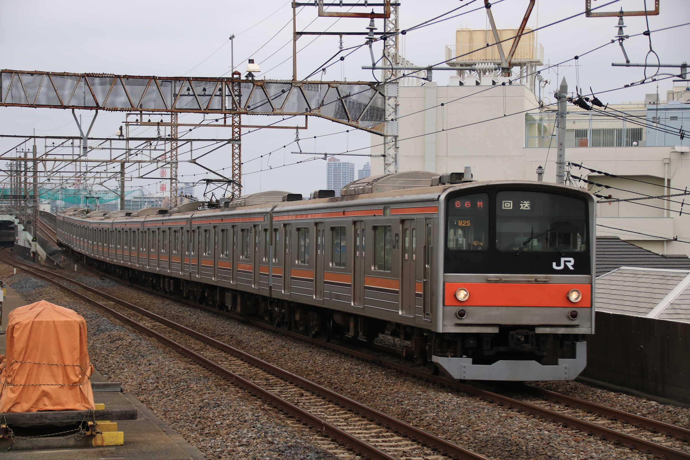 回2666M 205系 千ケヨM25編成