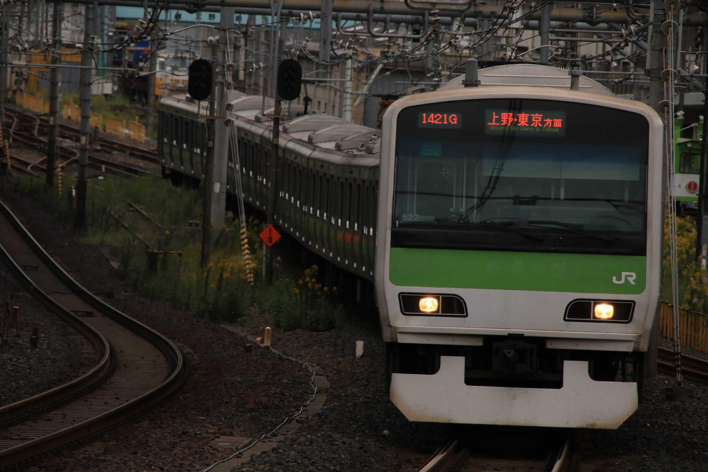 1421G E231系 東トウ522編成