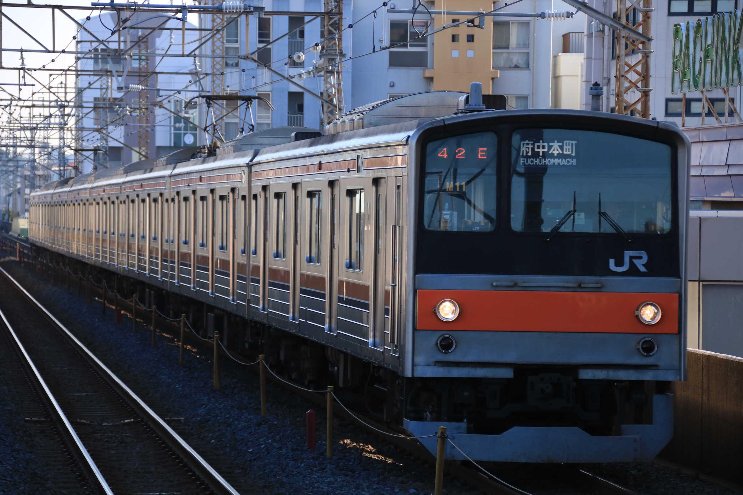 642E 205系 千ケヨM11編成