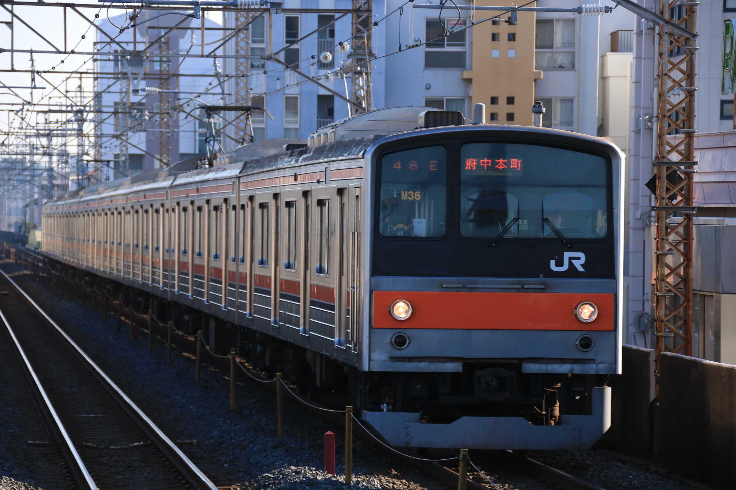 648E 205系 千ケヨM36編成
