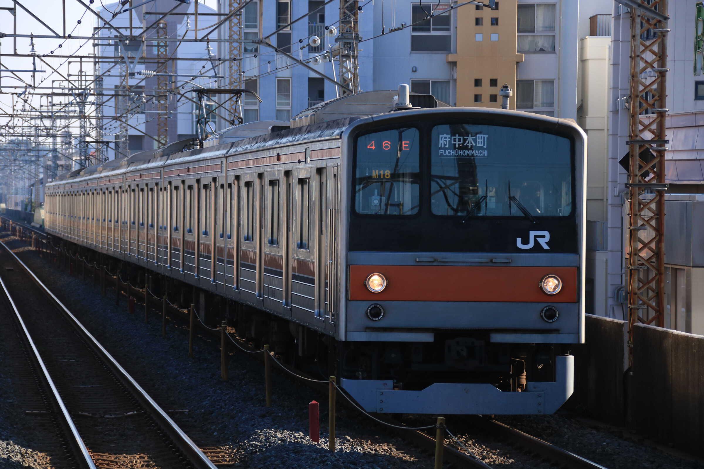 746E 205系 千ケヨM18編成