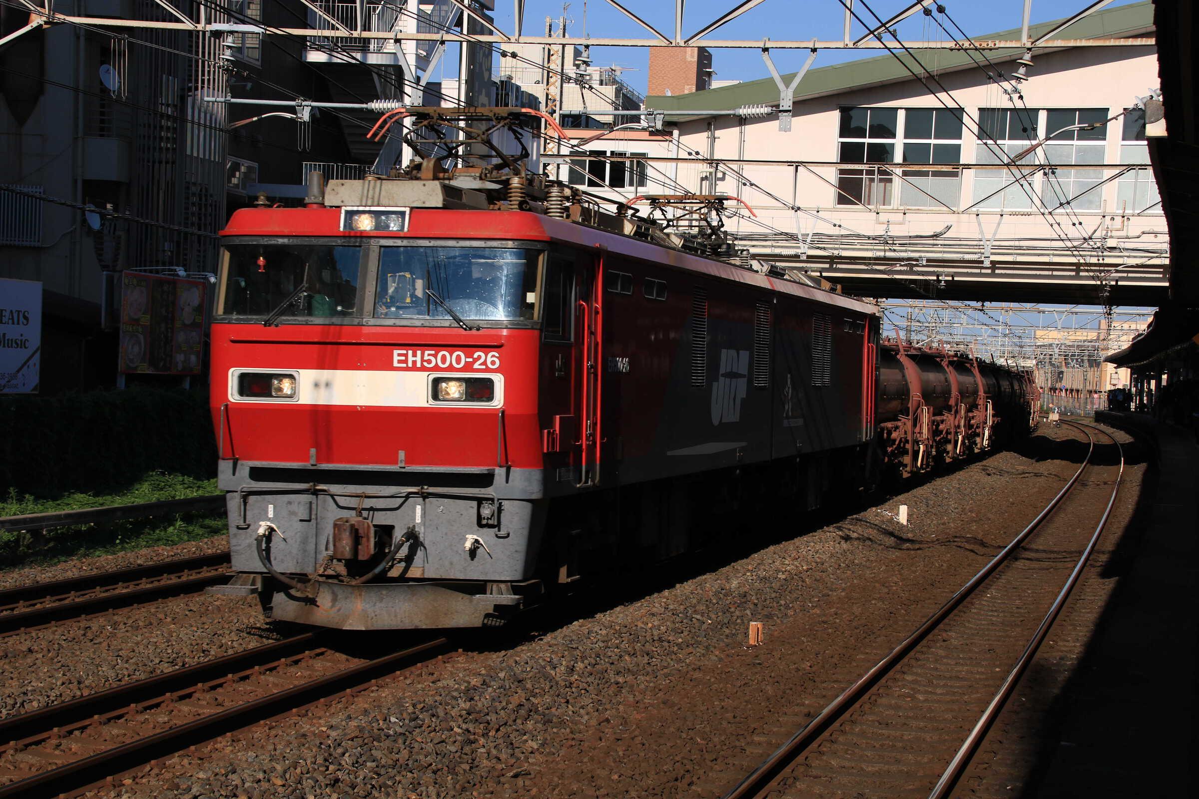 5094列車 EH500-26+トキ