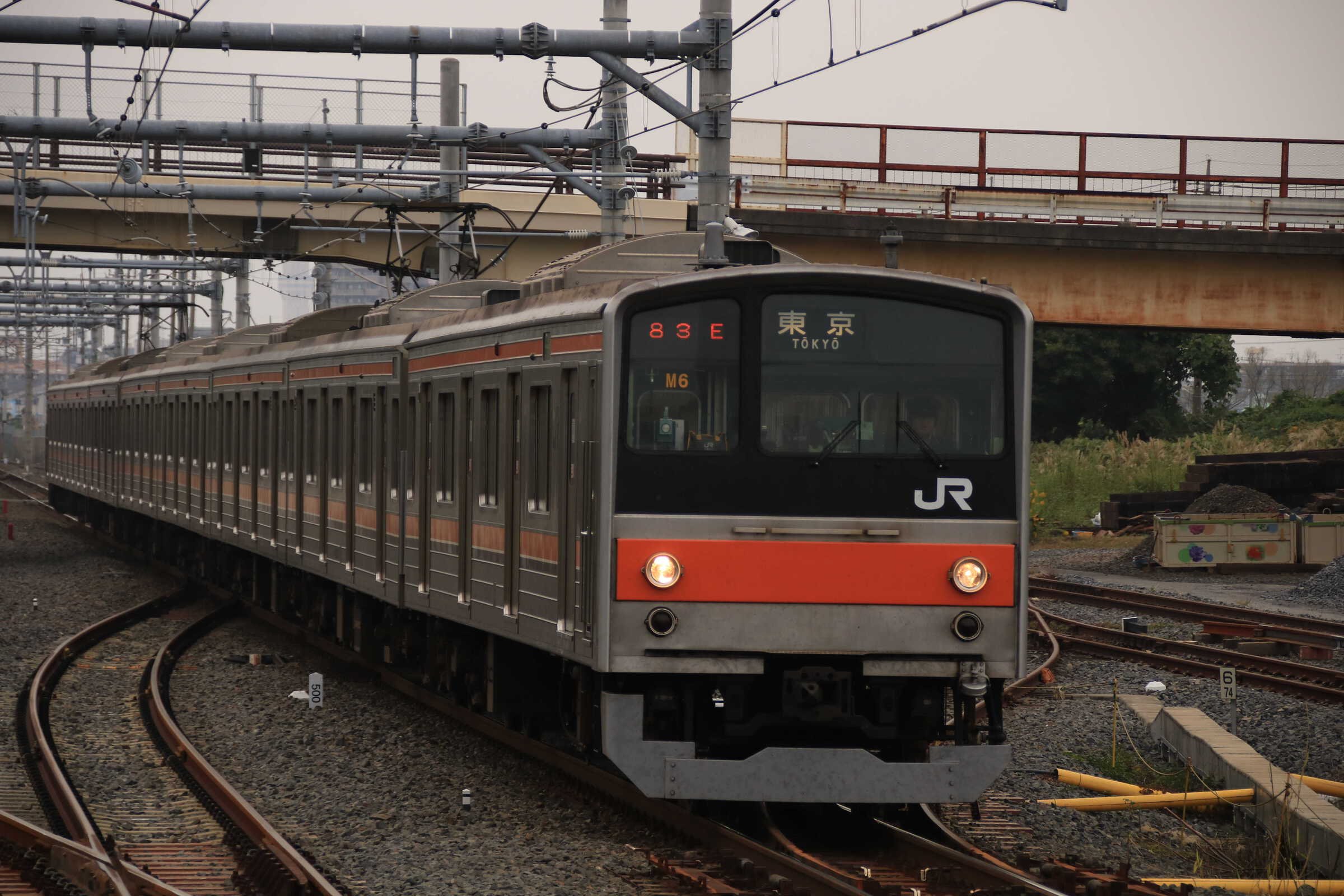 1383E 205系 千ケヨM6編成