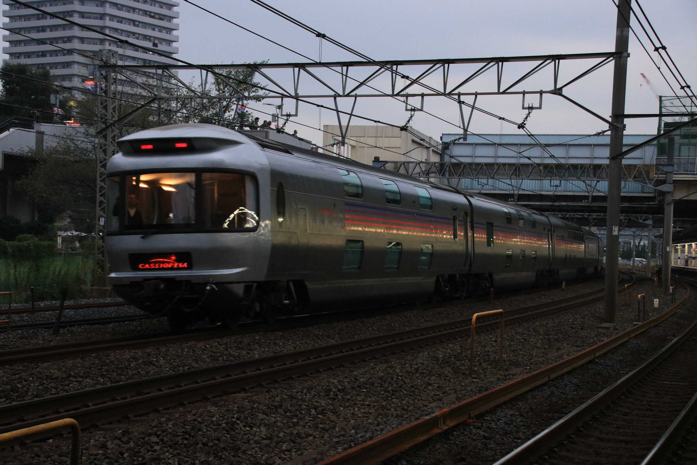 9011列車 団臨 カシオペア紀行 EF81-80②[田]+E26系 東オク車12両