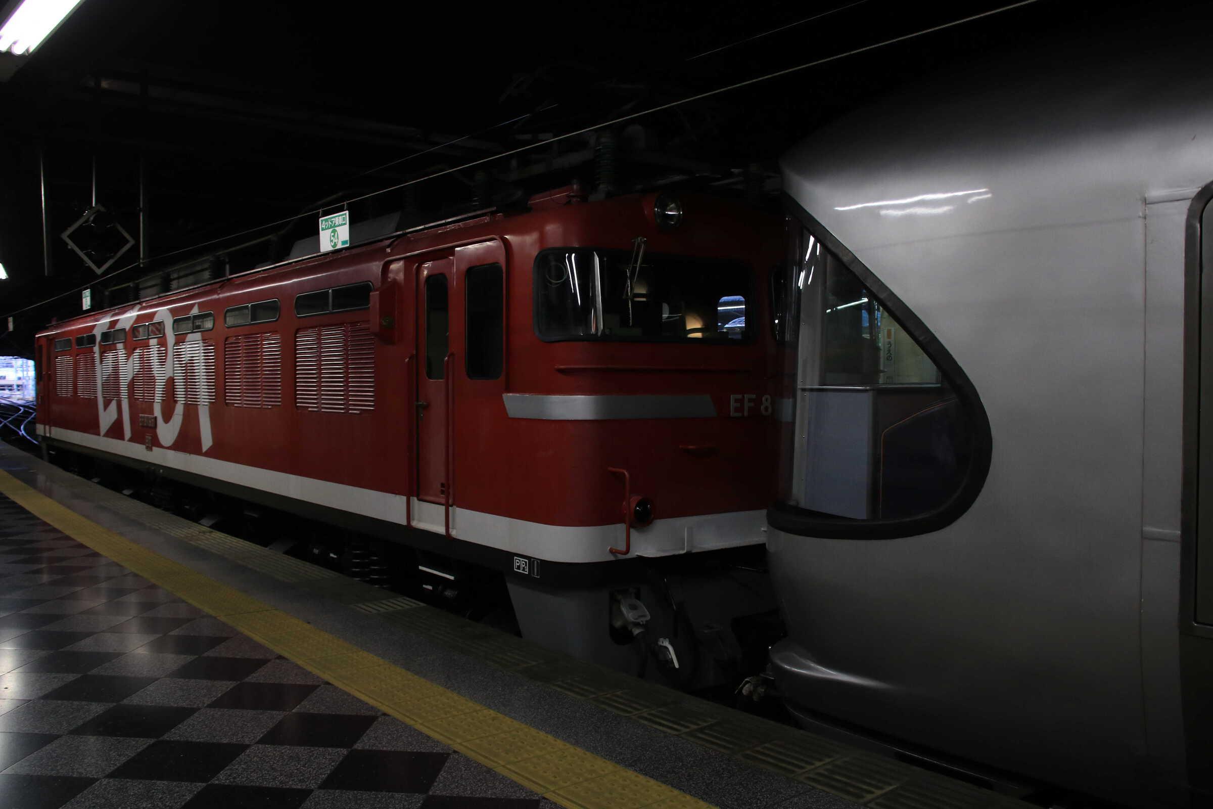 回9052列車〜9011列車 団臨 カシオペア紀行 ←青森 : EF81-95②[田]+E26系 東オク車12両 : 上野→