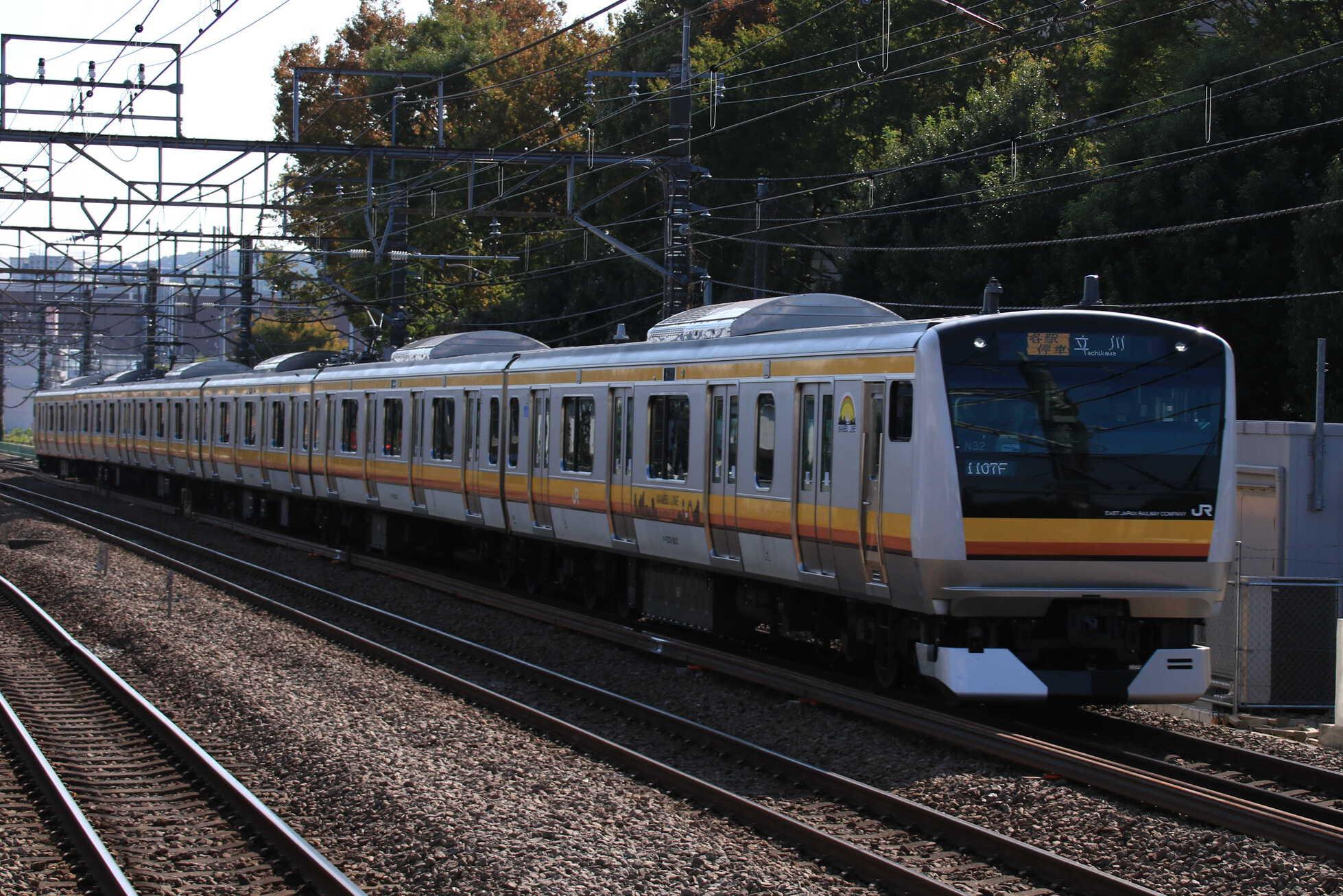 1107F E233系 横ナハN32編成
