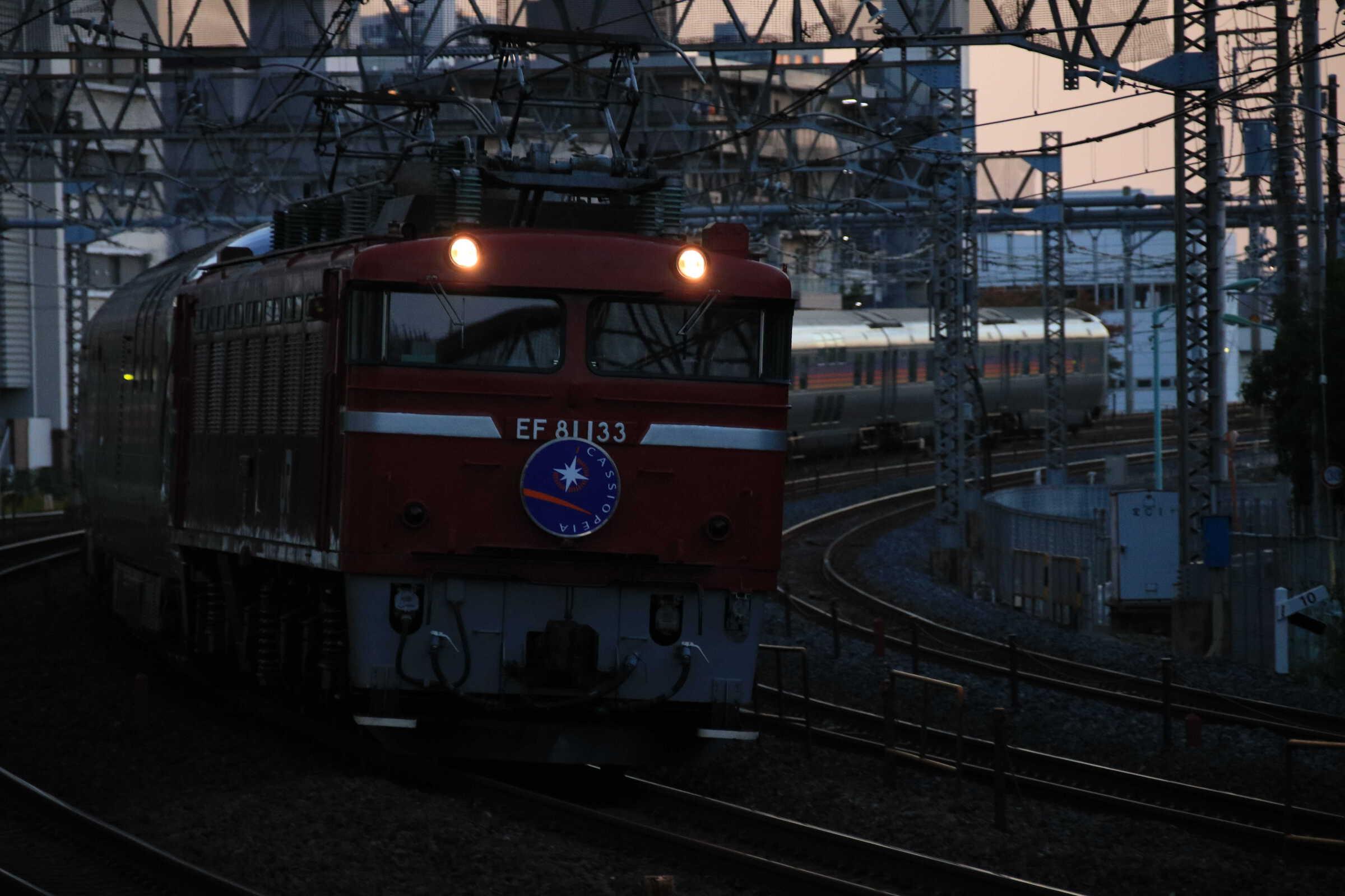 9011列車 団臨 カシオペア紀行 EF81-133+E26系12B