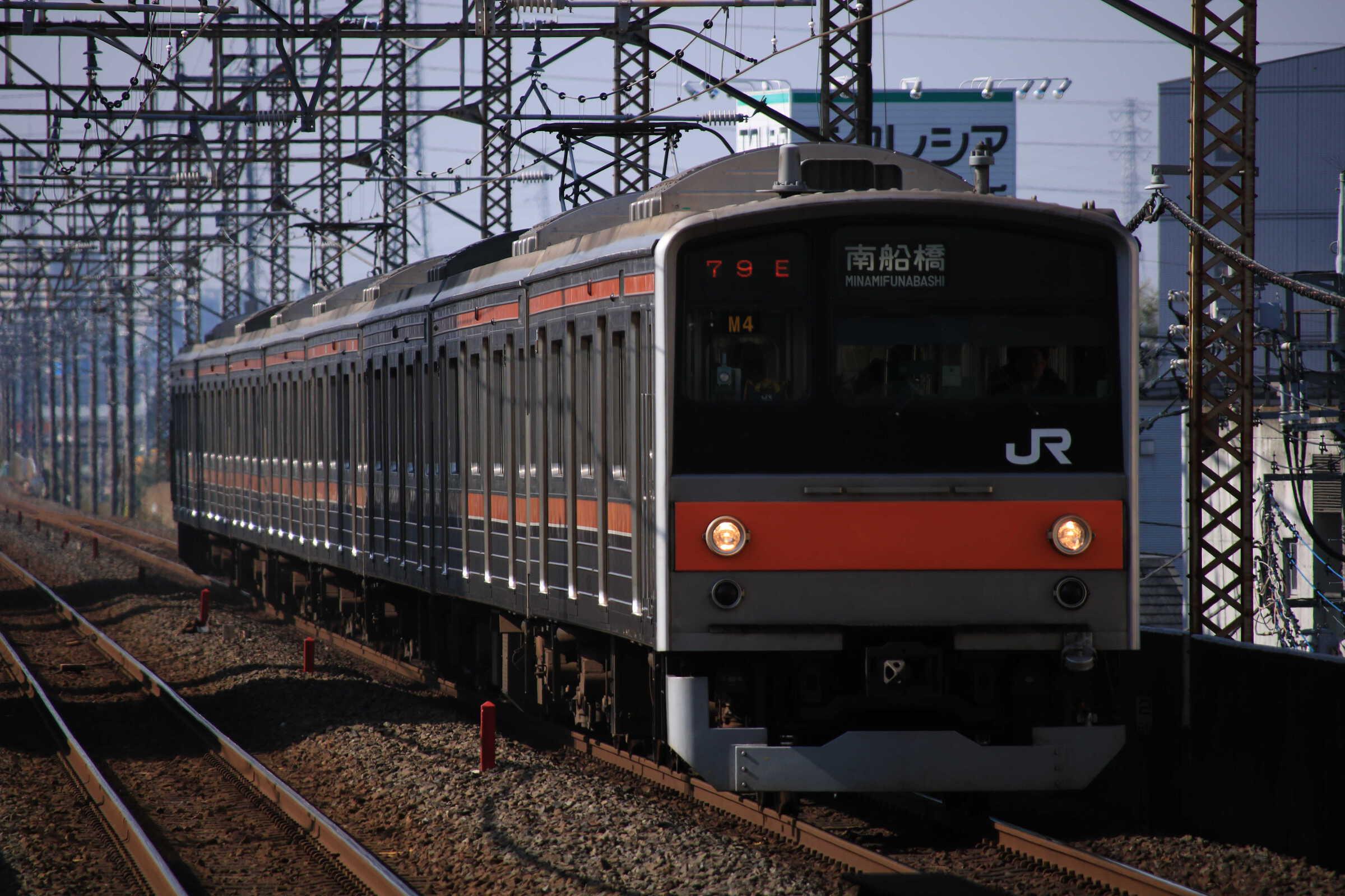 1179E 205系 千ケヨM4編成