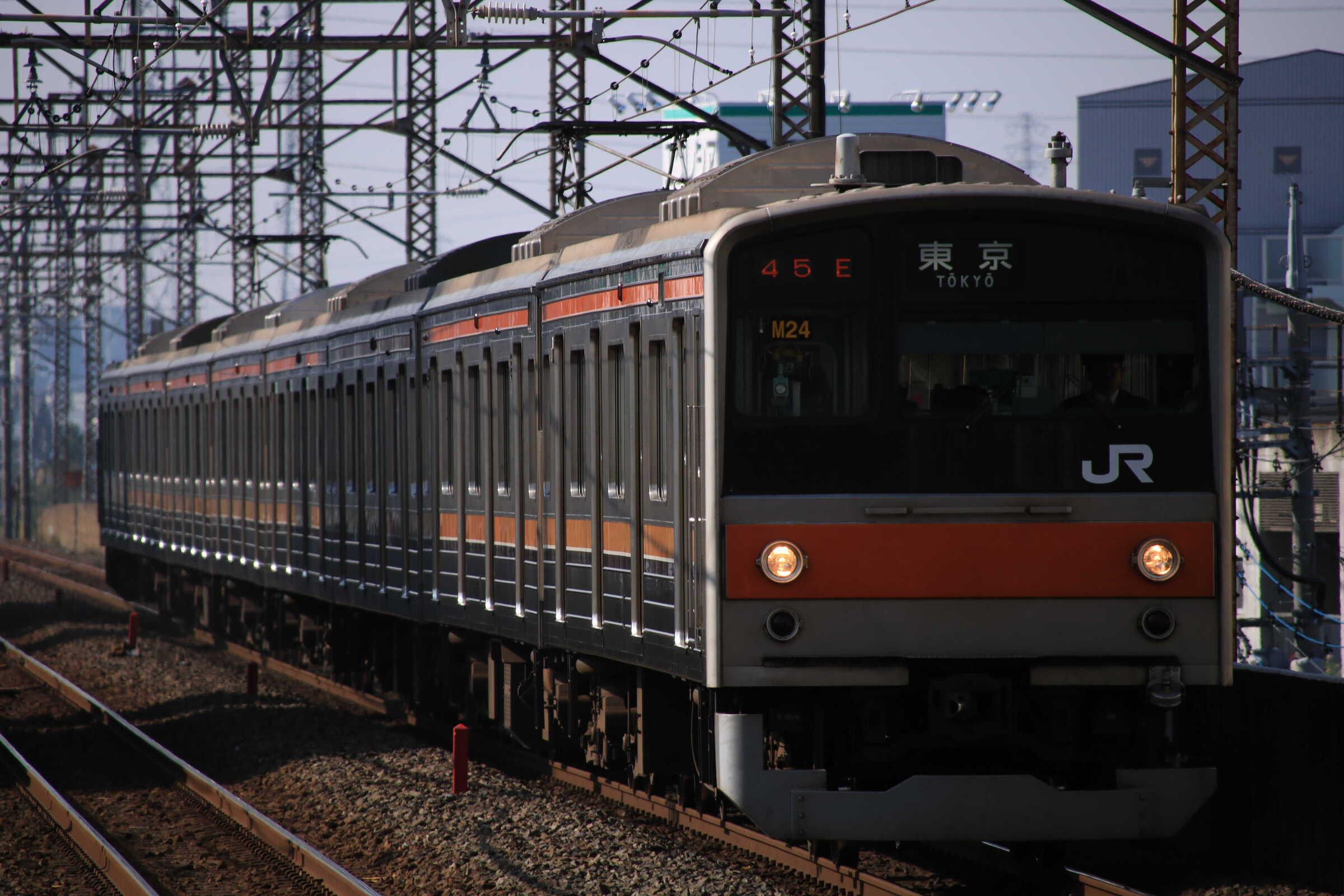 1145E 205系 千ケヨM24編成