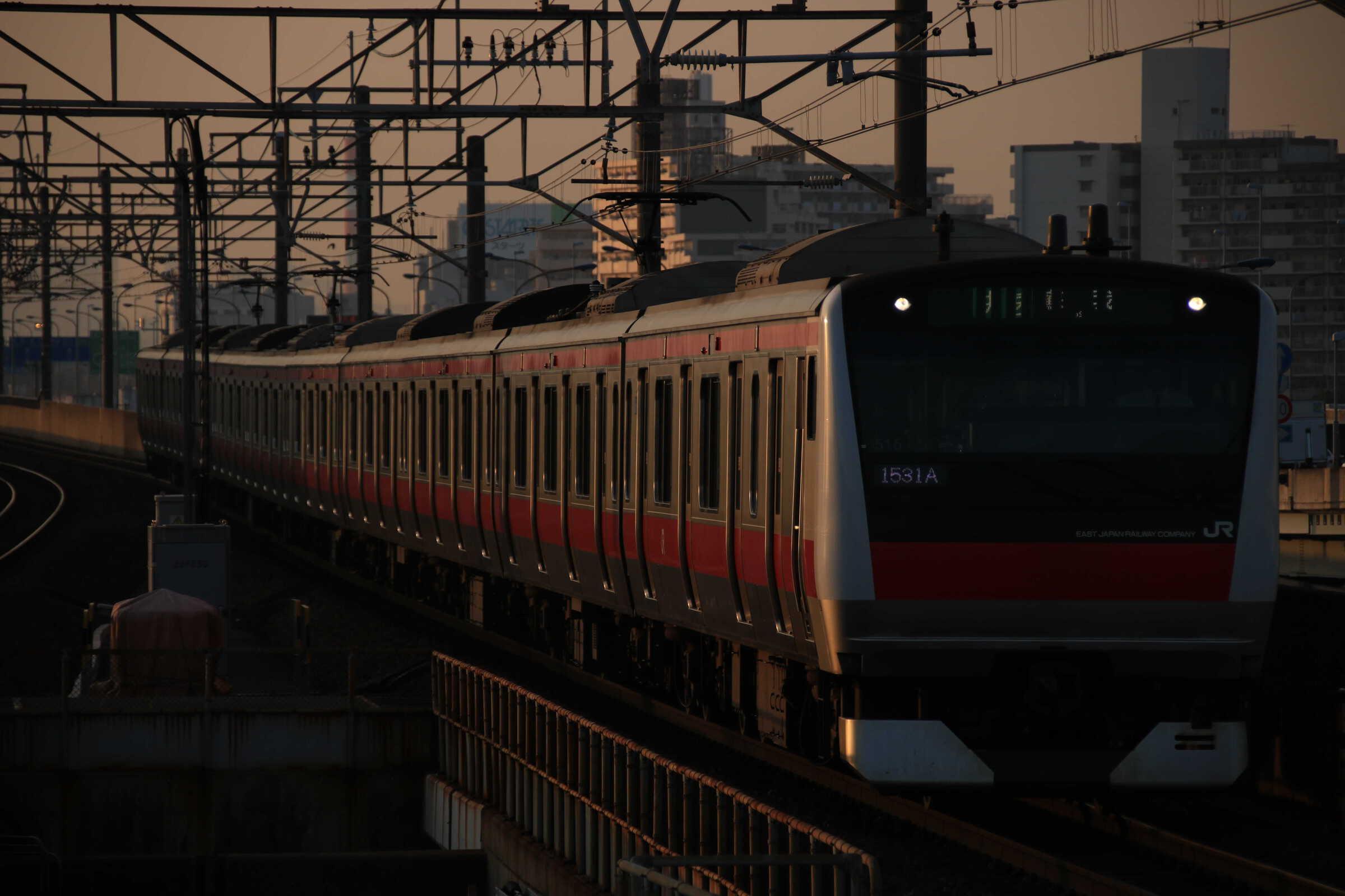 1531A E233系 千ケヨ515編成