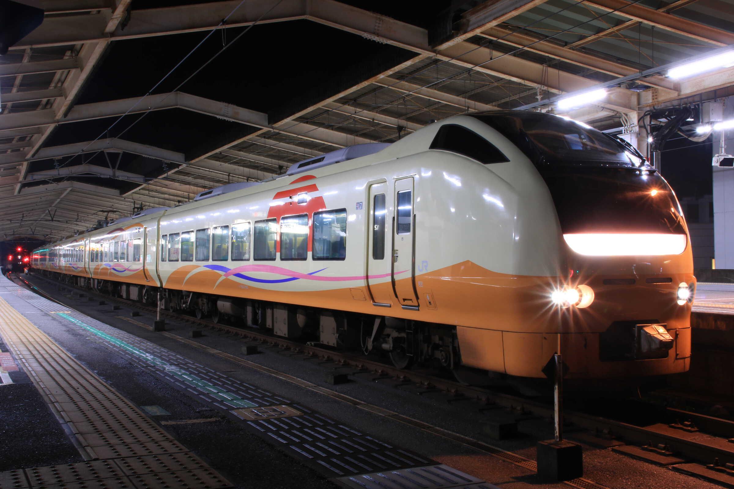 9738M 団臨(秋1101, 東京(舞浜)→新潟) スターライト舞浜号 E653系 新ニイU-107編成