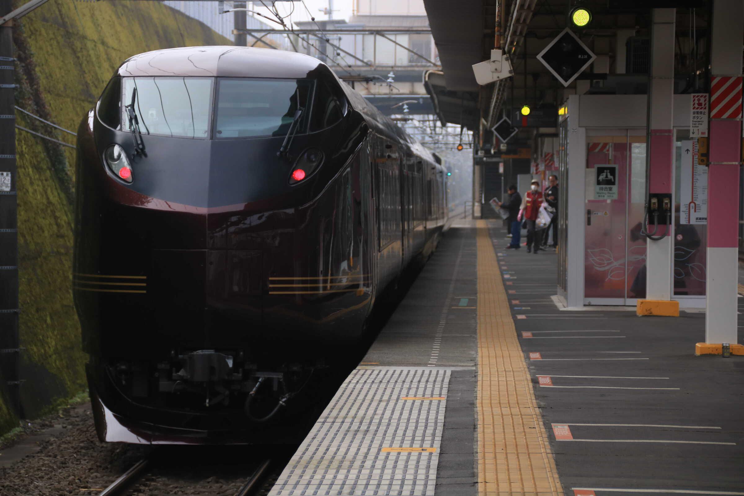 """回9525M 団臨(東1125) 送り込み回送 E655系 """"和"""" 東オク車5両"""