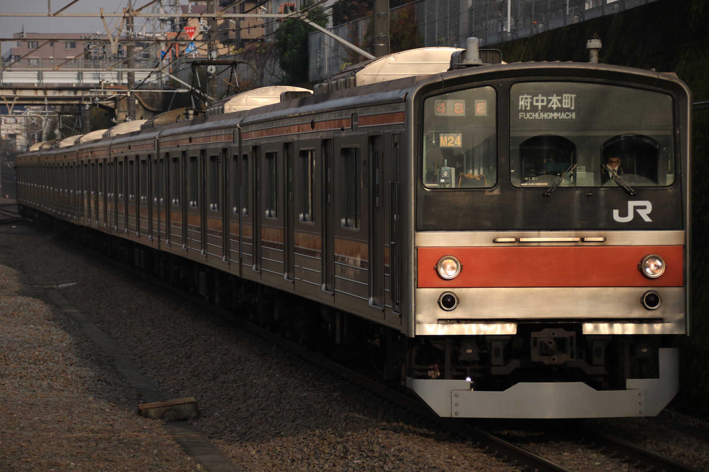 1448E 205系 千ケヨM24編成
