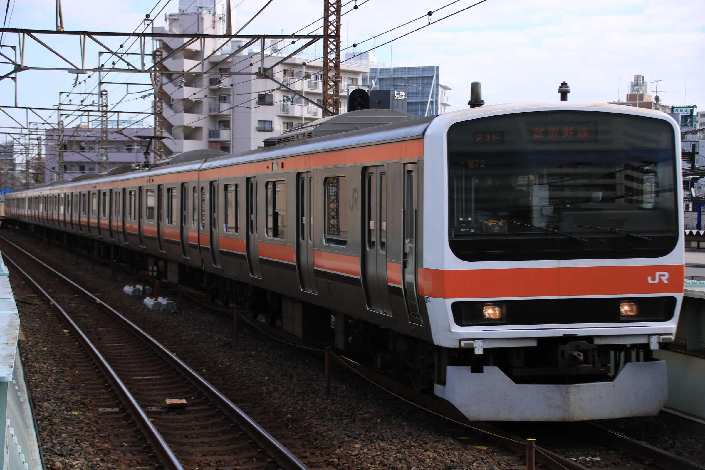 1020E 209系 千ケヨM72編成