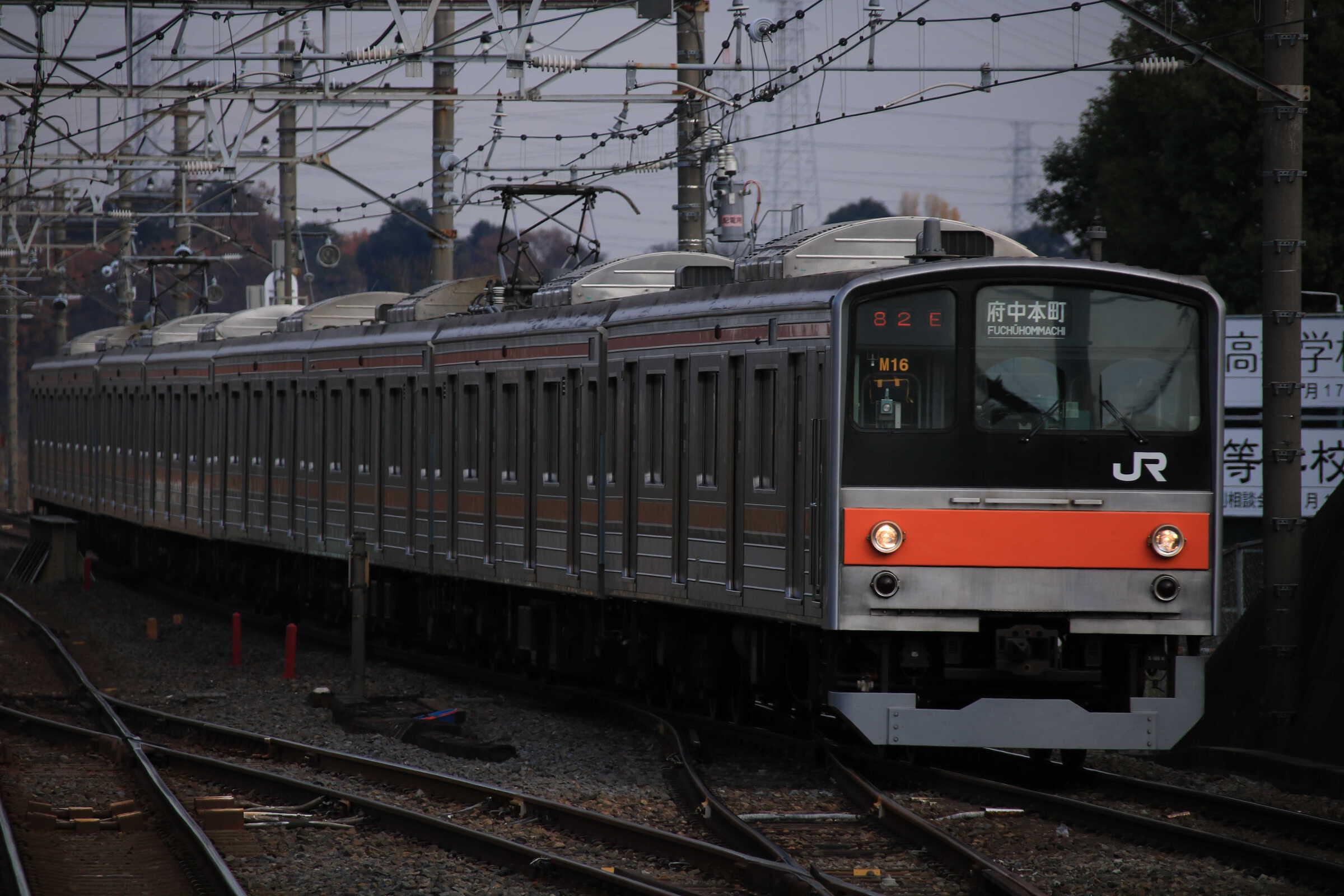 1282E 205系 千ケヨM16編成