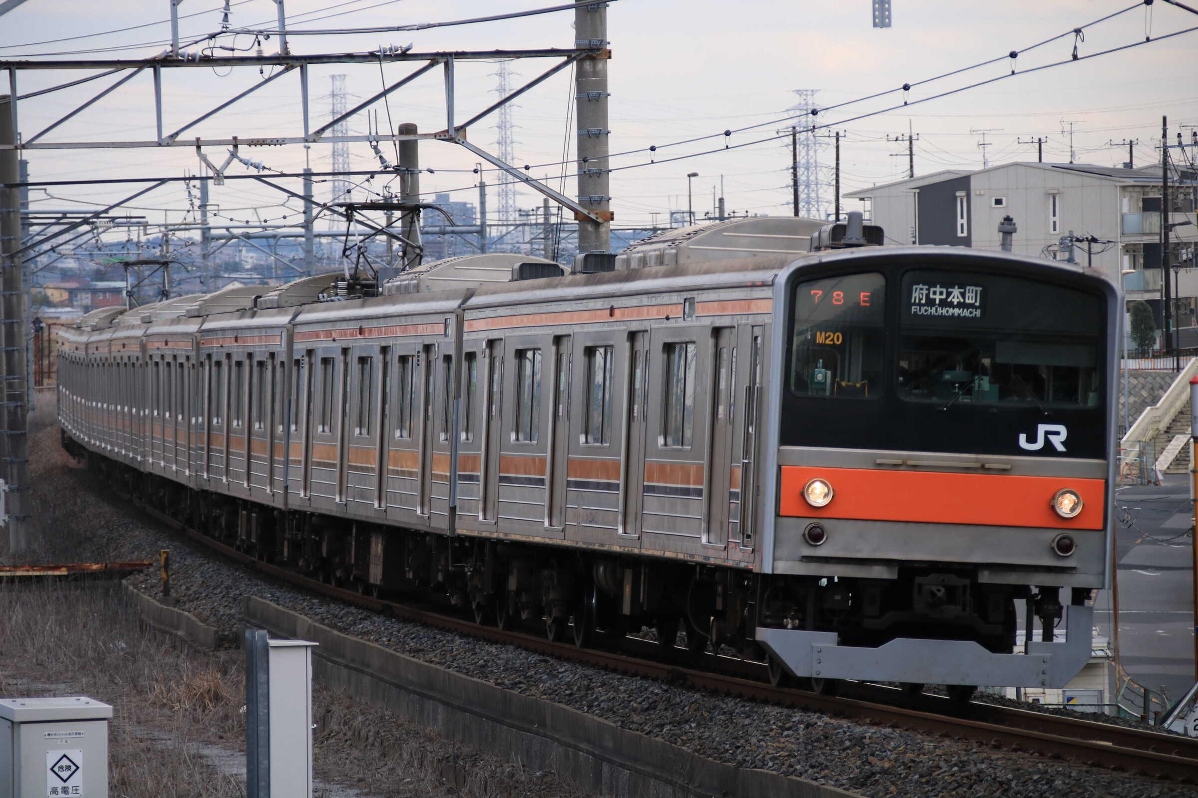 1278E 205系 千ケヨM20編成