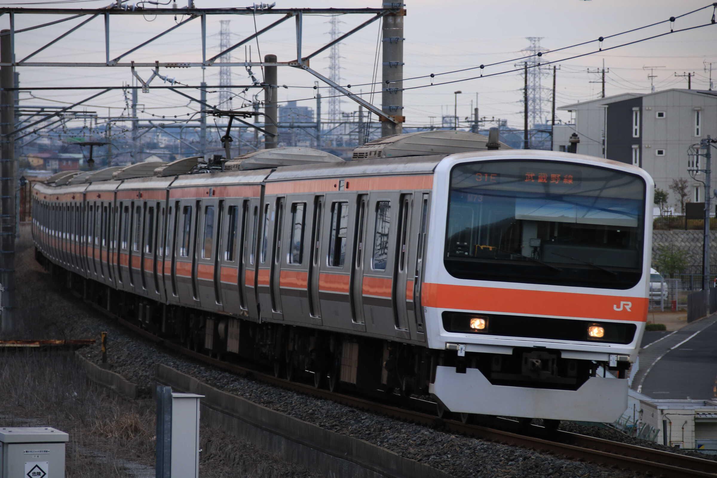 1330E 209系 千ケヨM73編成
