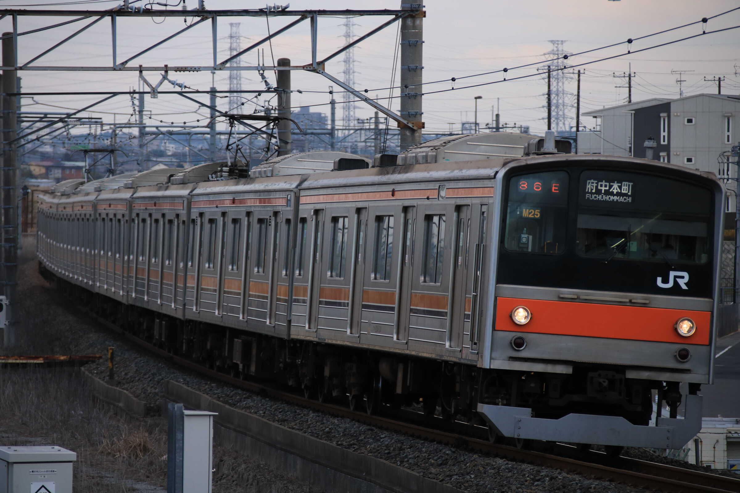 1336E 205系 千ケヨM25編成