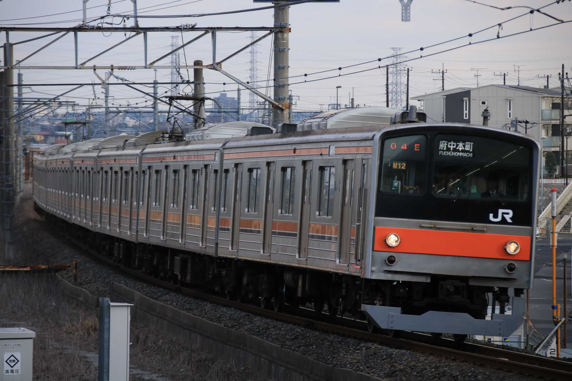 1304E 205系 千ケヨM12編成