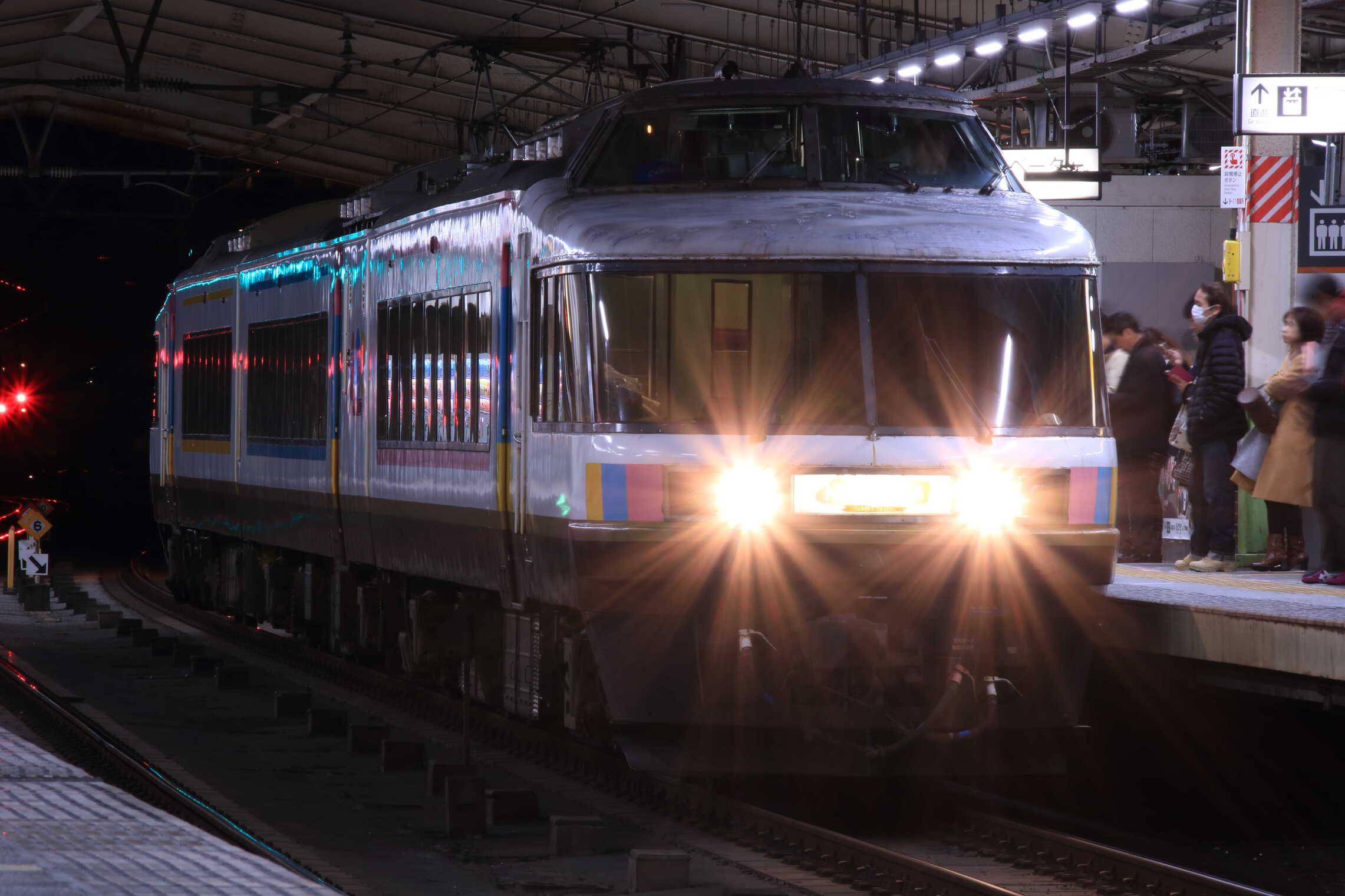 """9738M 団臨(新1202, 東京(舞浜)→直江津) 485系 新ニイ車 """"NO.DO.KA"""""""
