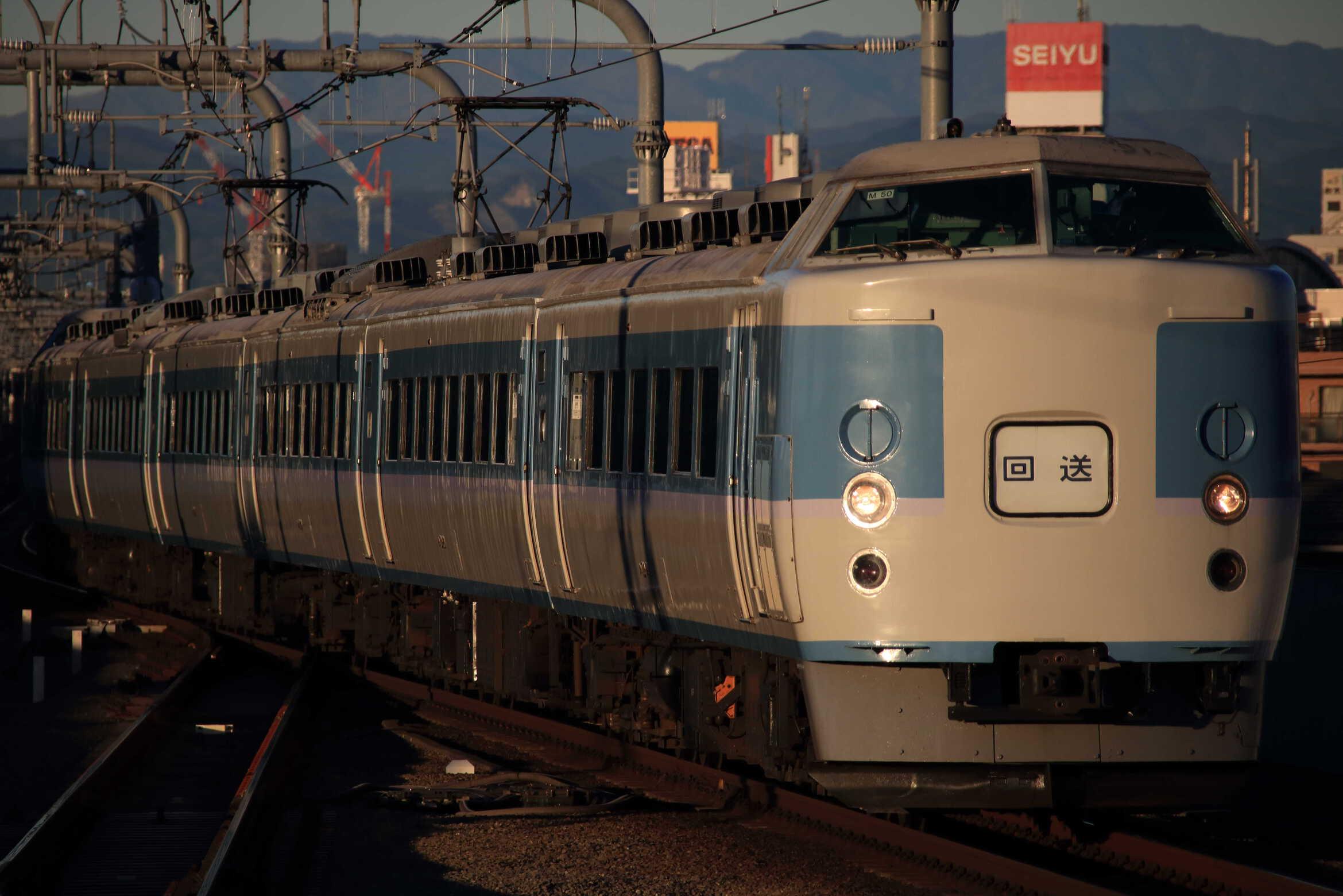 回8571M 快速 ホリデー快速 富士山1号 送り込み 189系 八トタM50編成