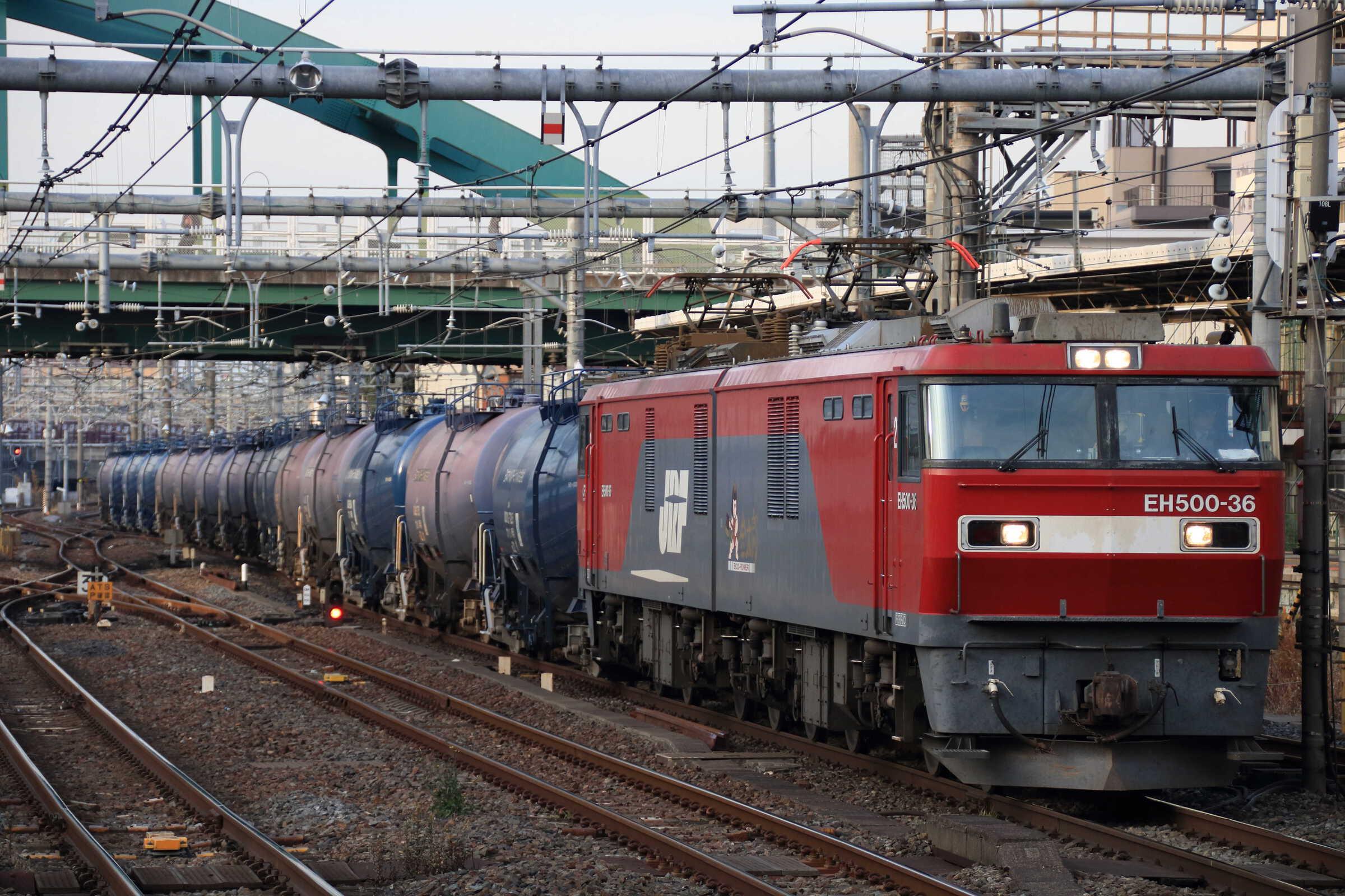 1074列車 EH500-36②[仙貨]+タキ
