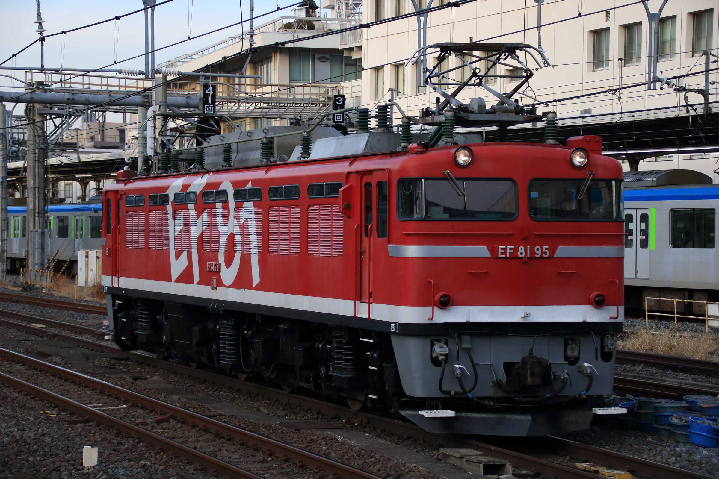 試単9502列車 黒磯試単 EF81-95①[田]