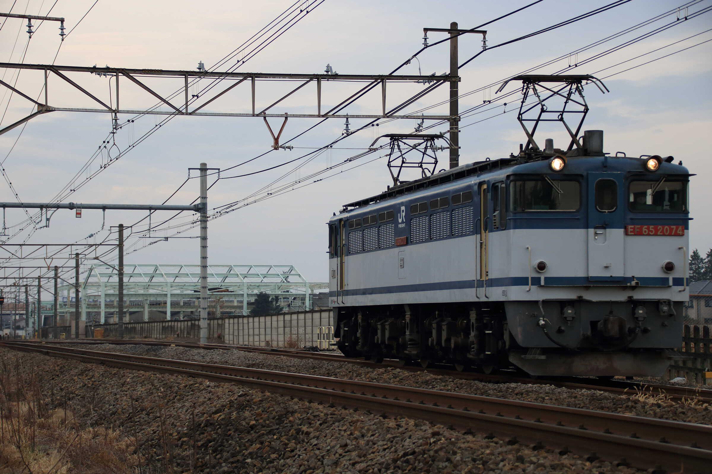 単6794列車 EF65-2074①[新]
