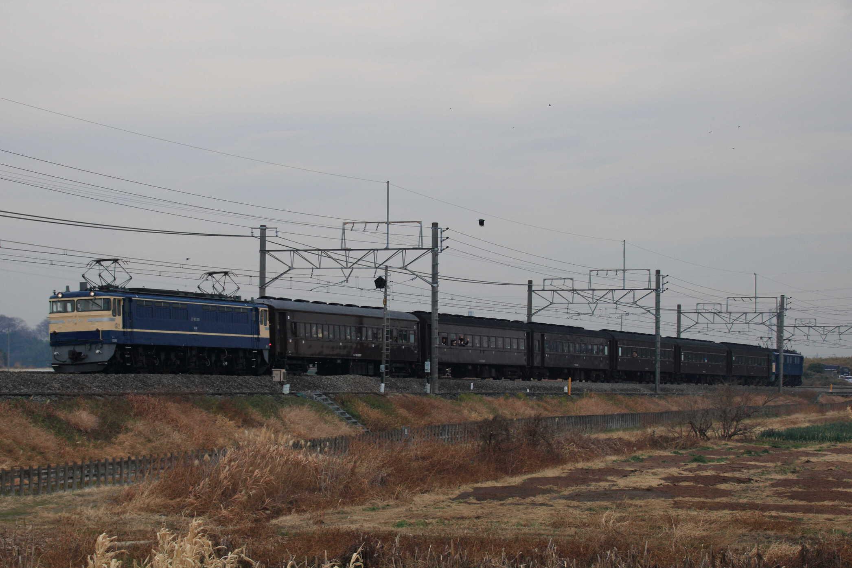 9331列車 団臨(水1202, 熊谷→横川) 旧型客車で行く横川望年列車の旅 EF65-501②[高]+旧客 高タカ車6両+EF60-19②[高]