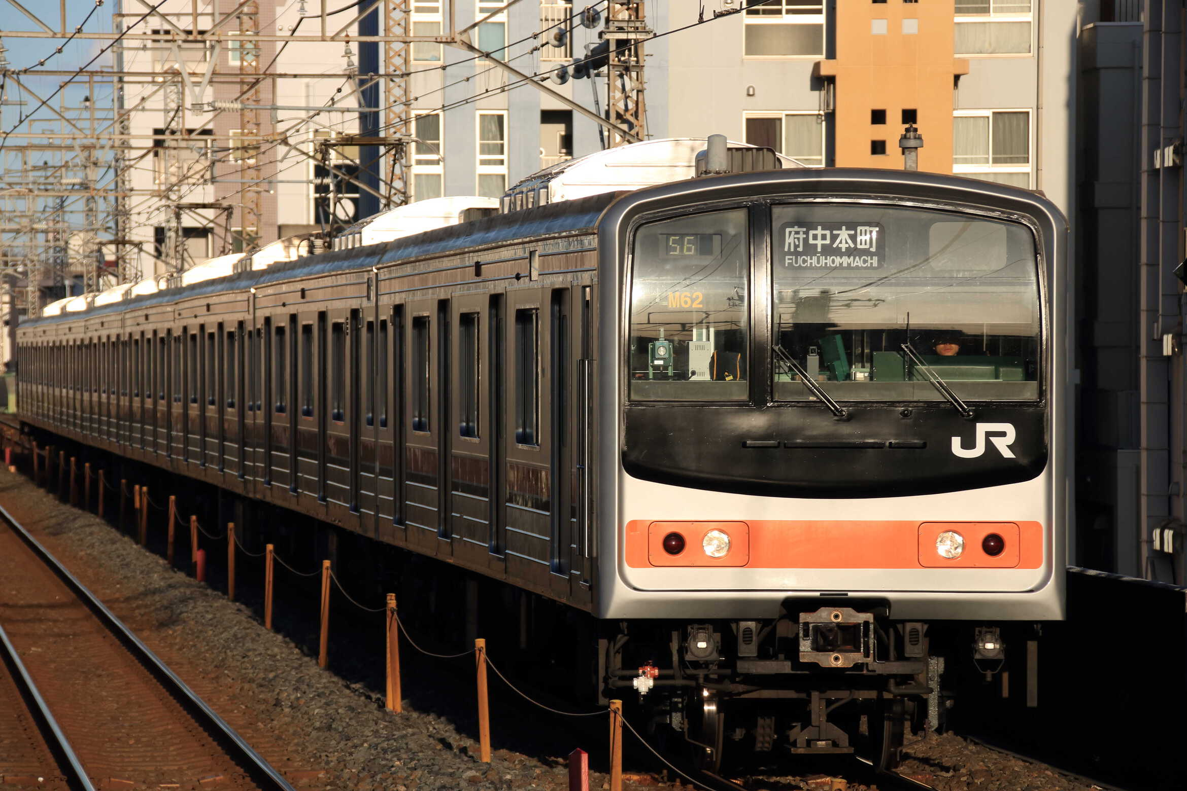 1456E 205系 千ケヨM62編成