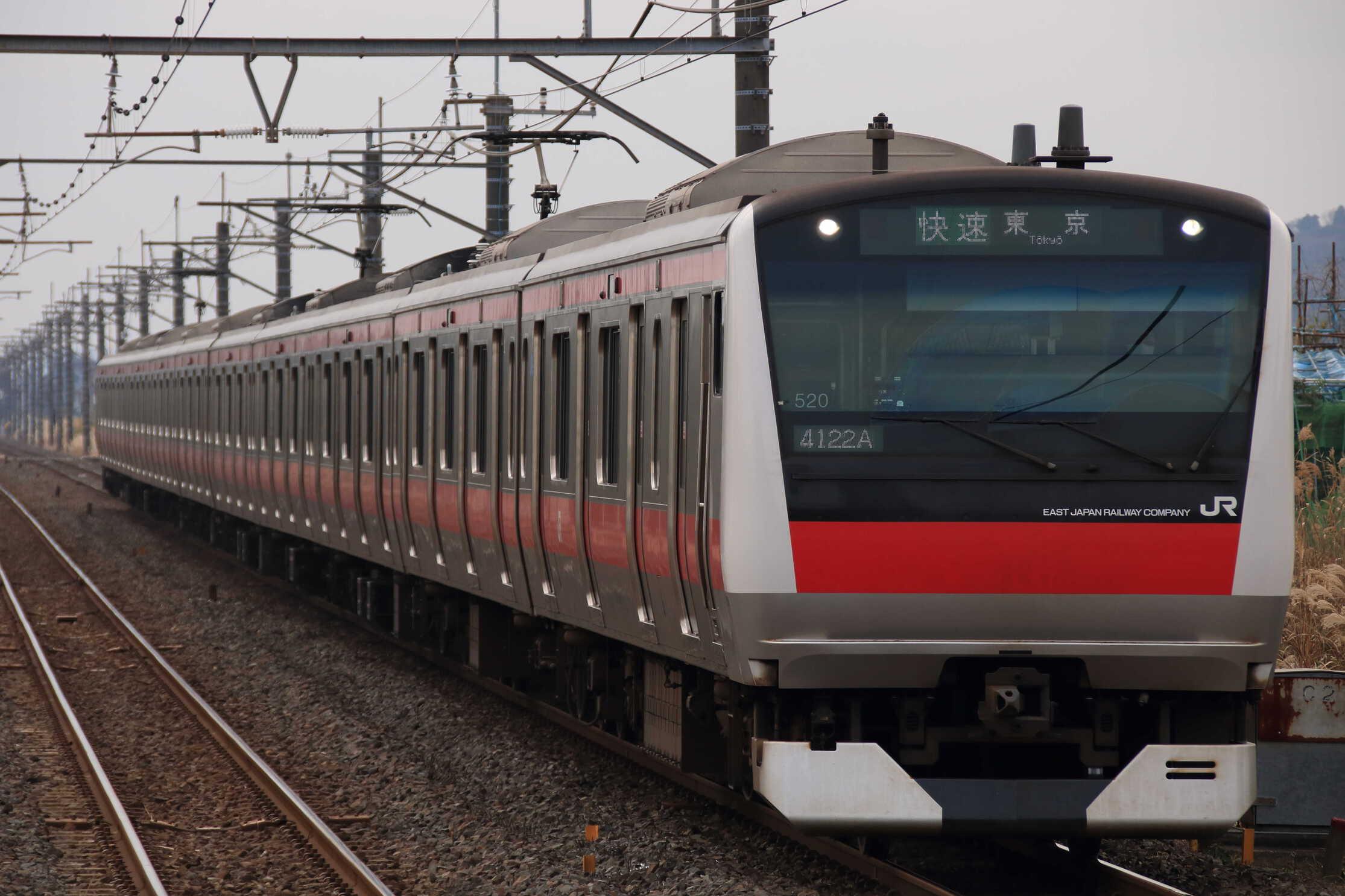 4122A E233系 千ケヨY520編成