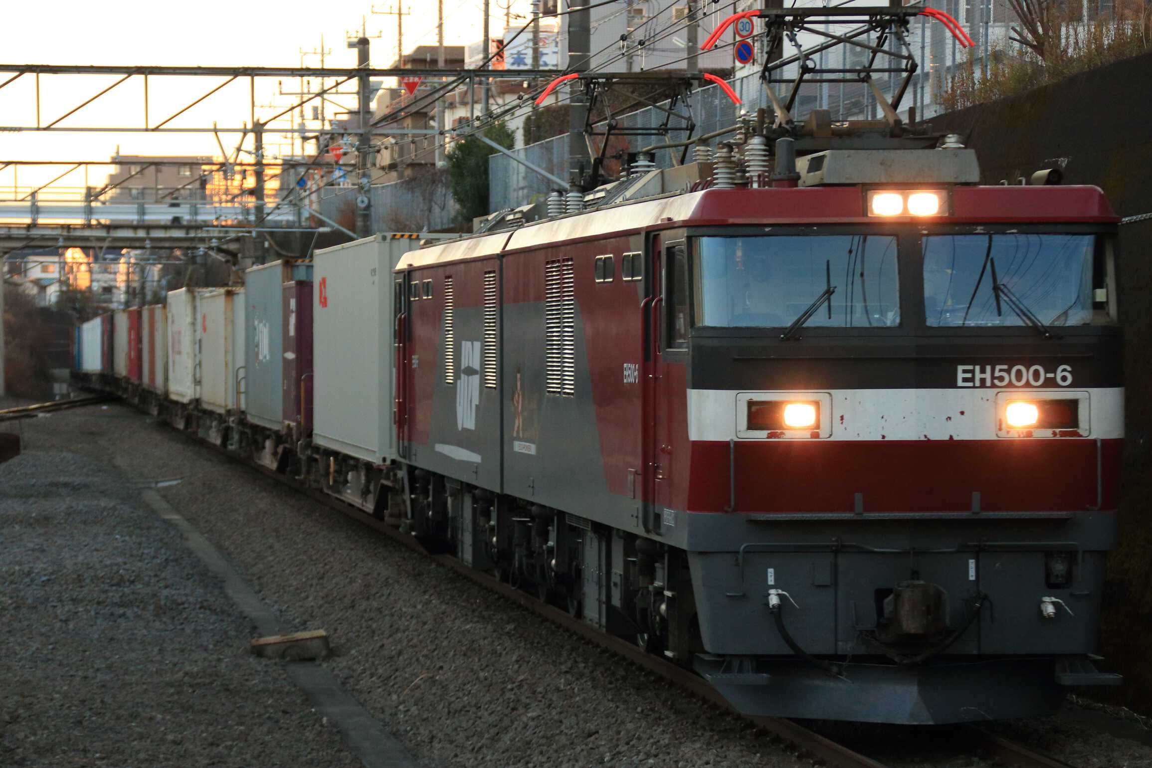 4072列車 EH500-6①[仙貨]+コキ