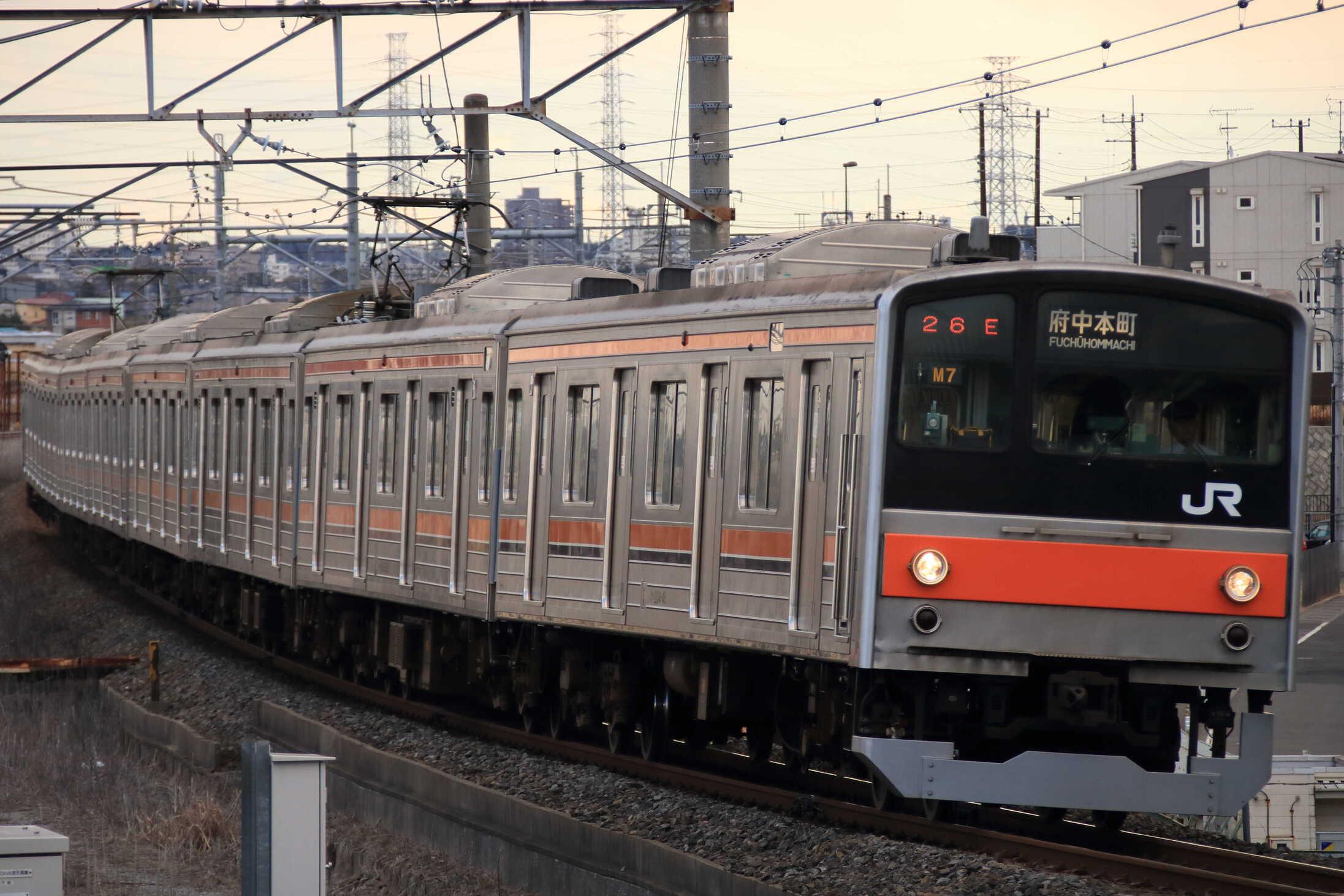1426E 205系 千ケヨM7編成