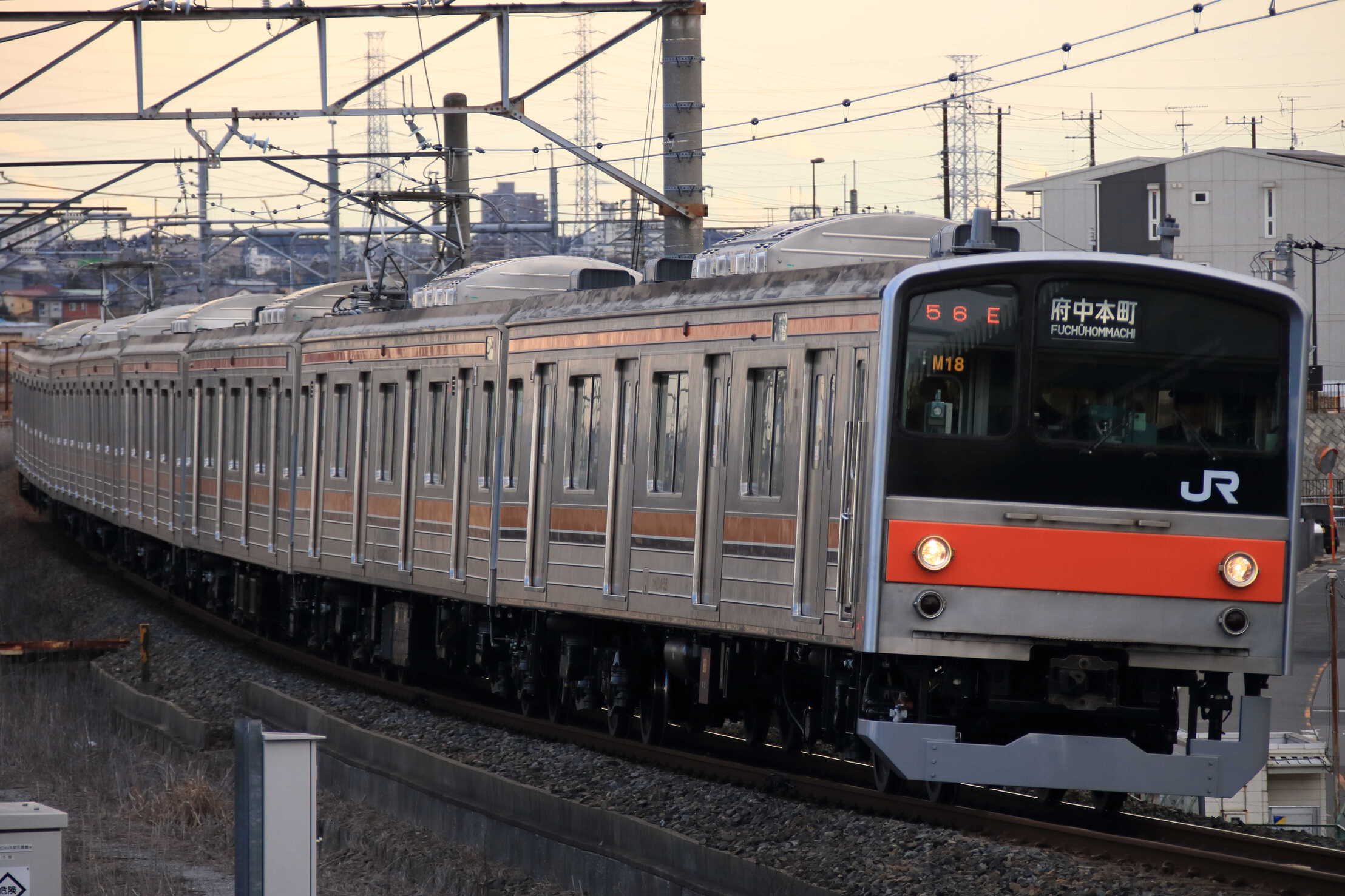 1456E 205系 千ケヨM18編成