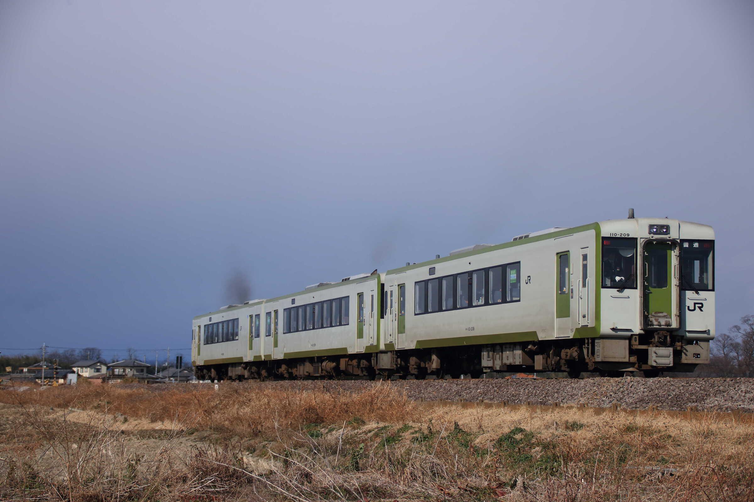 235D キハ110系 高タカ車3両(キハ111-209+キハ112-209+キハ110-209)