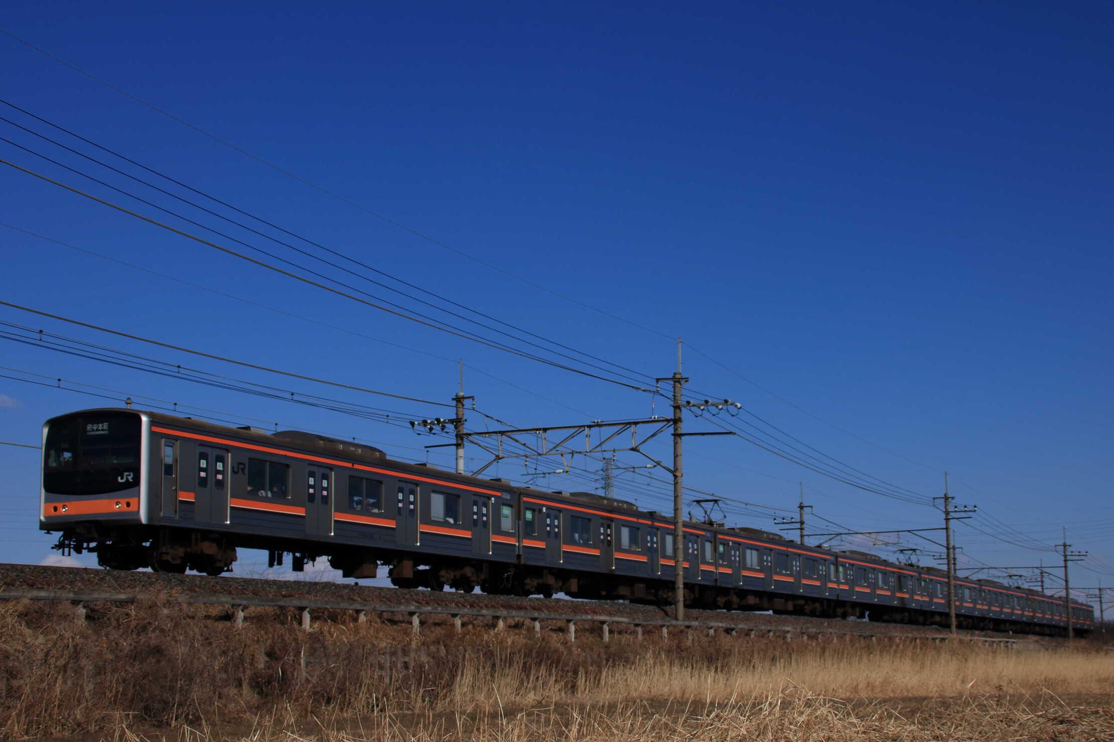 1110E 205系 千ケヨM65編成