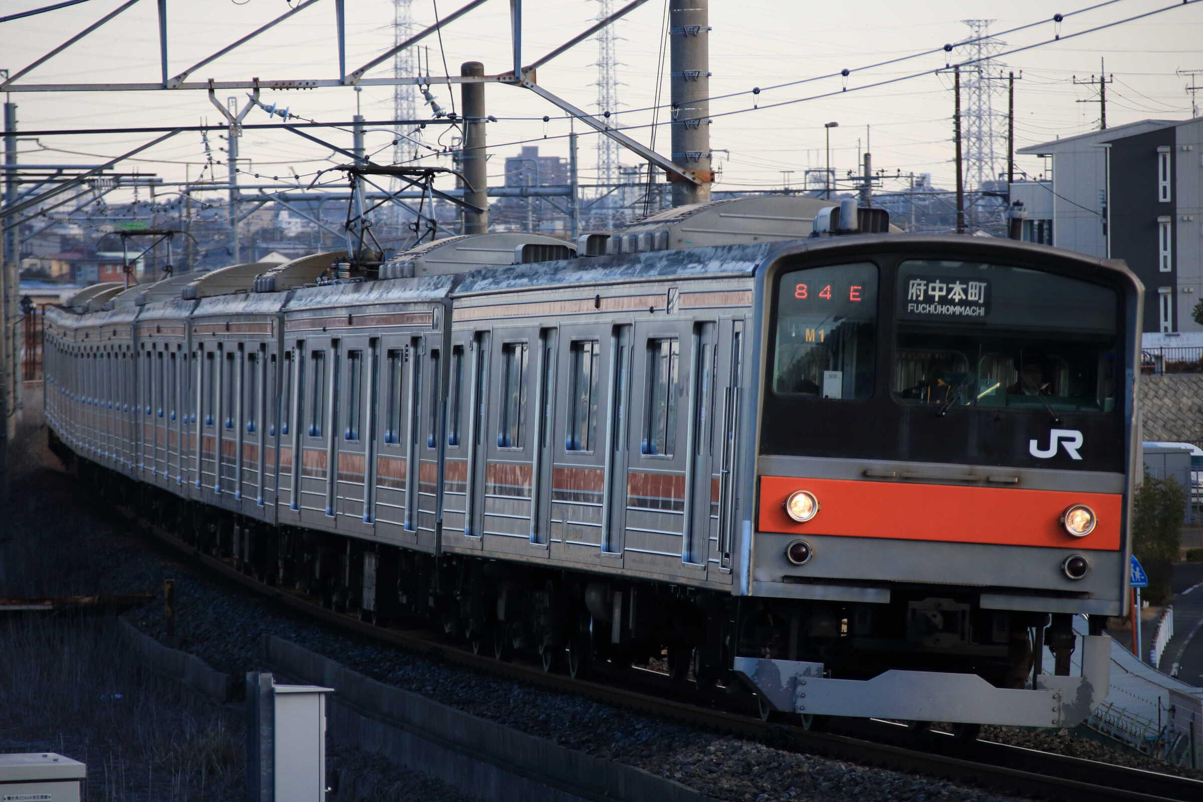 1484E 205系 千ケヨM1編成
