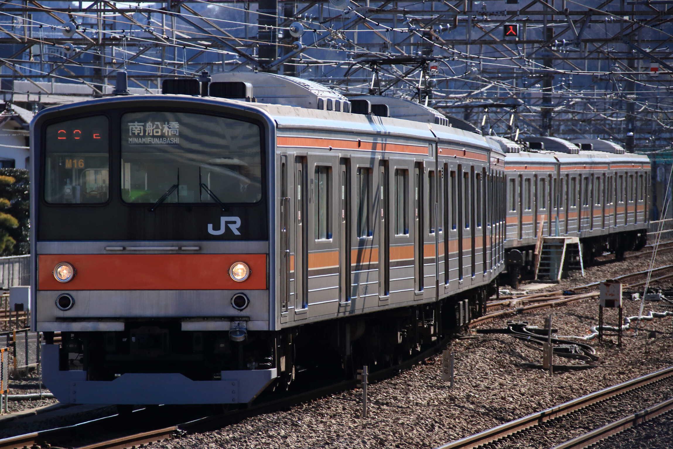 1221E 205系 千ケヨM16編成