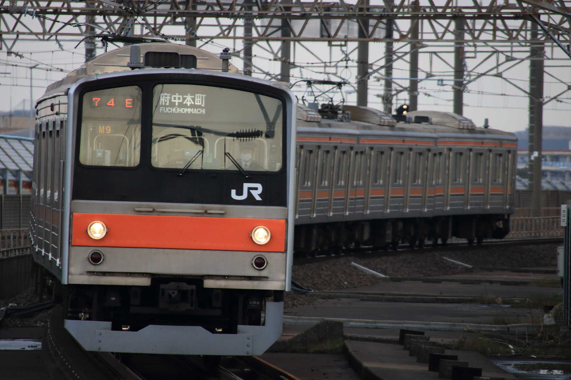 1574E 205系 千ケヨM9編成