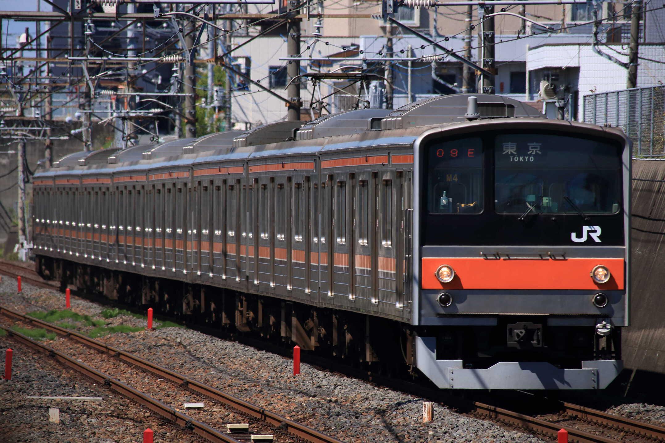 809E 205系 千ケヨM4編成