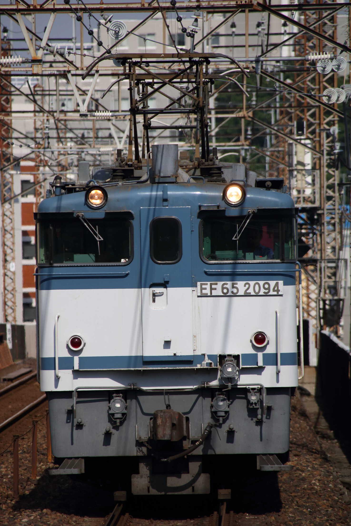 74列車 EF65-2094①[新]+コキ