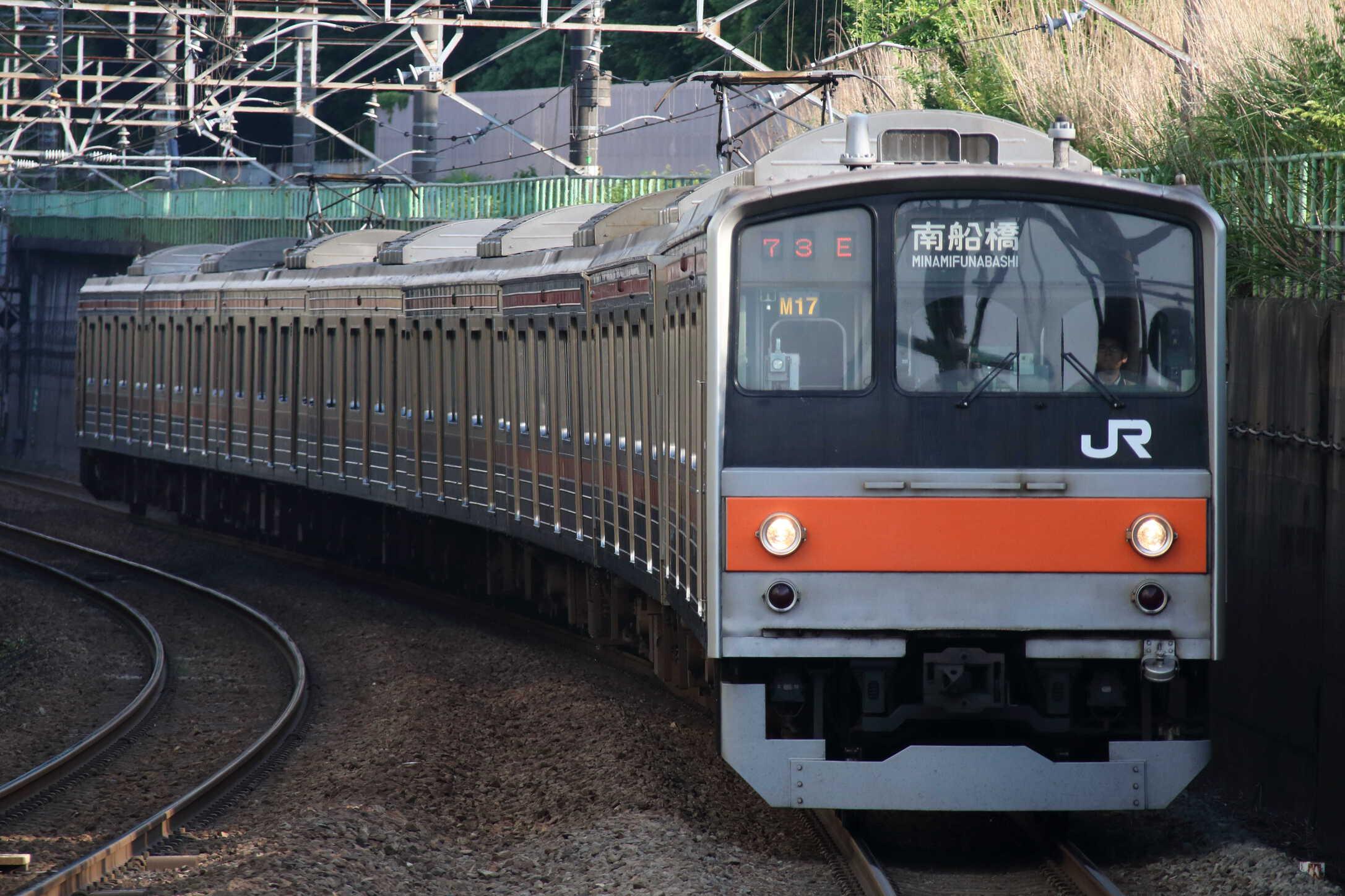 1673E 205系 千ケヨM17編成