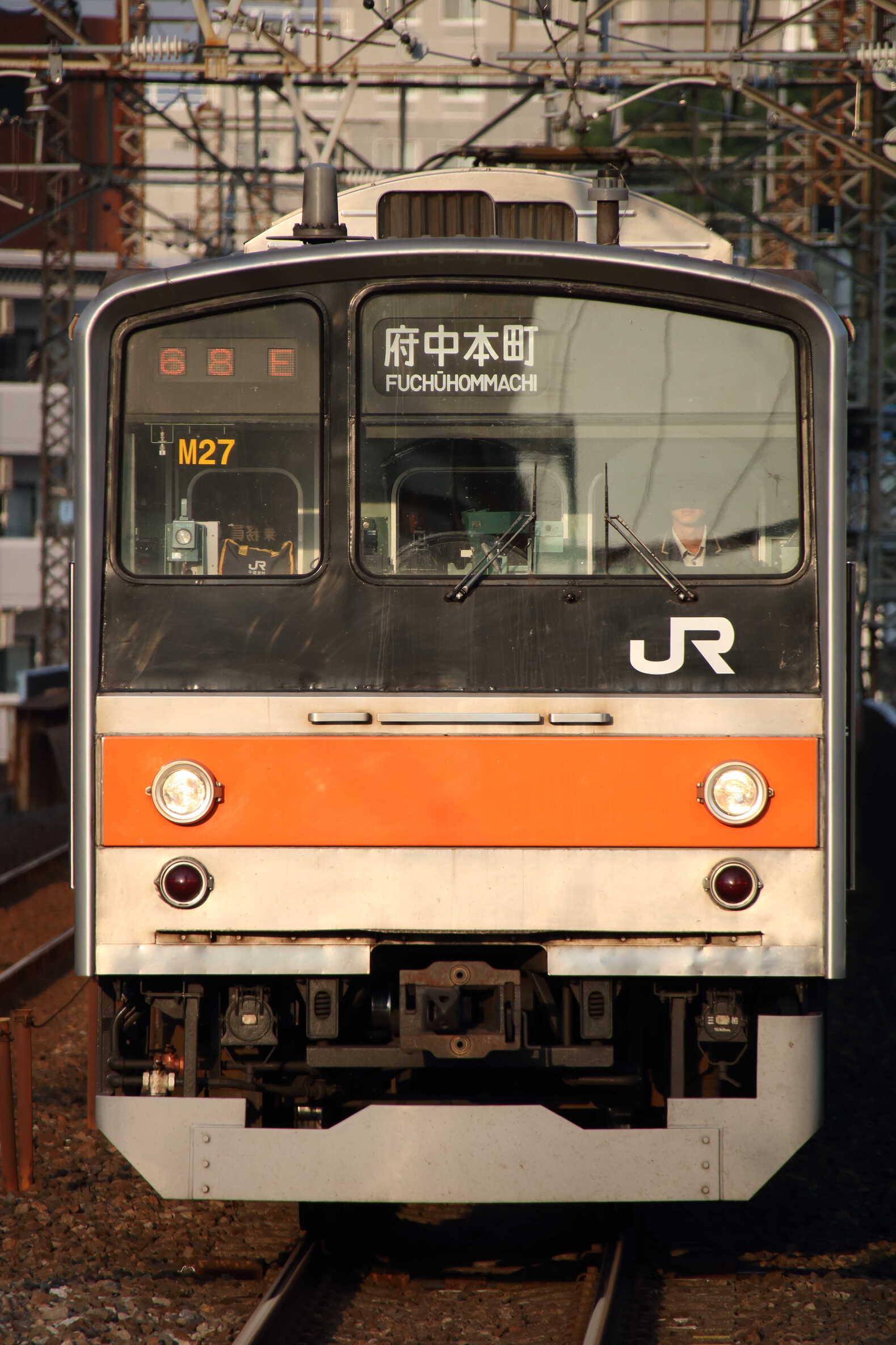 1668E 205系 千ケヨM27編成